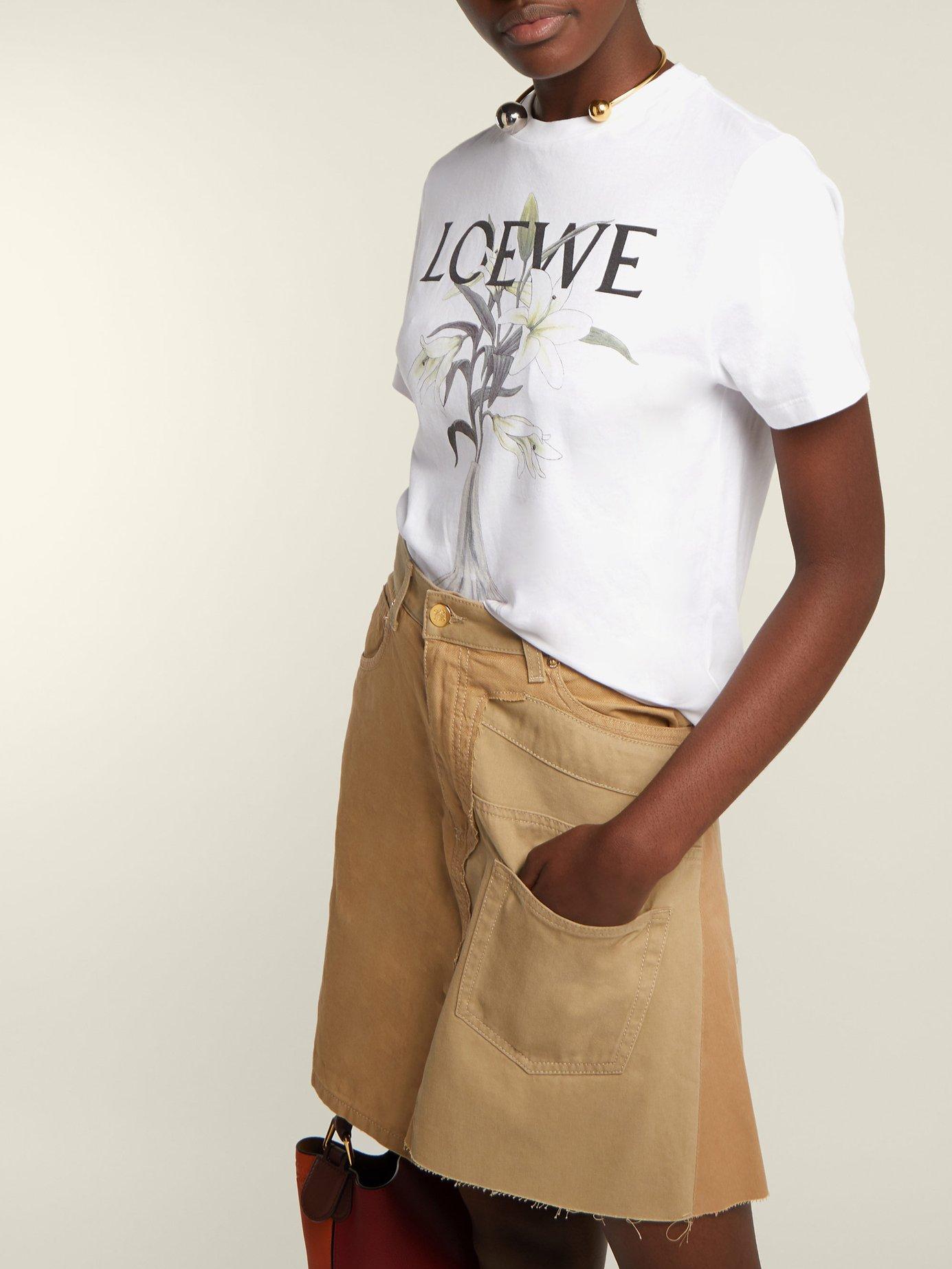 Logo-print cotton-jersey T-shirt by Loewe