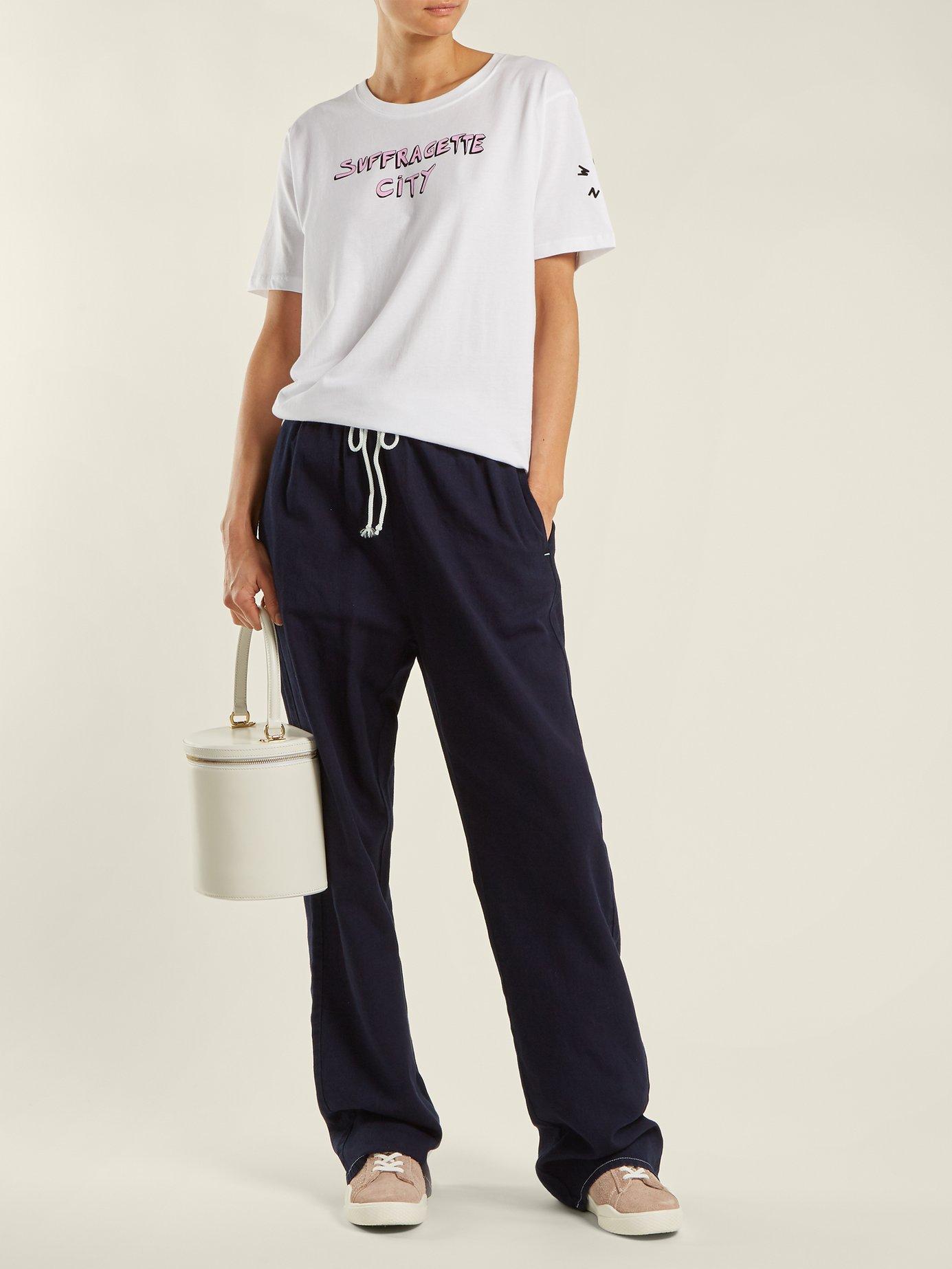 x Gillian Wearing Suffragette City T-shirt by Bella Freud