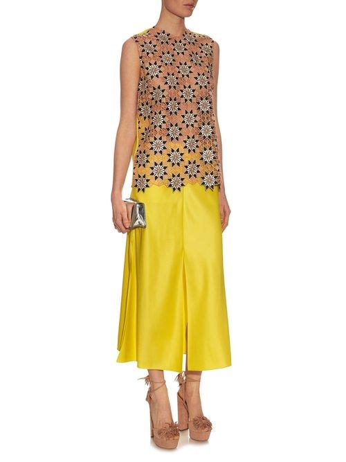 Jessica guipire-lace sleeveless top by Jonathan Saunders