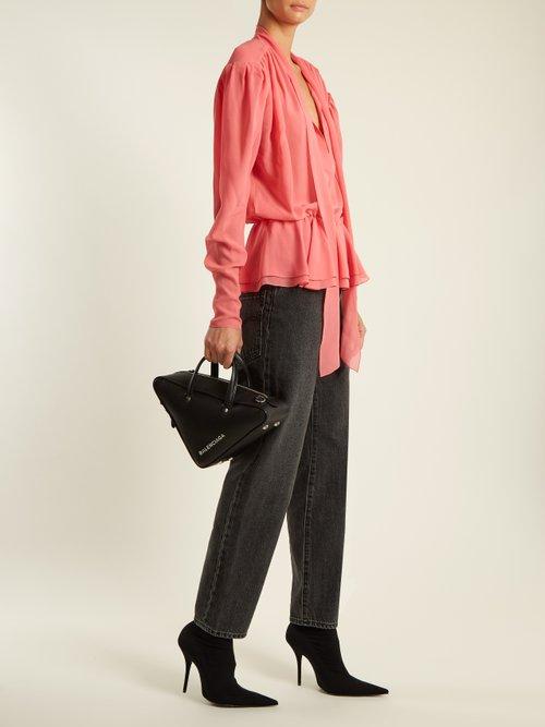 Lavalliere blouse by Balenciaga