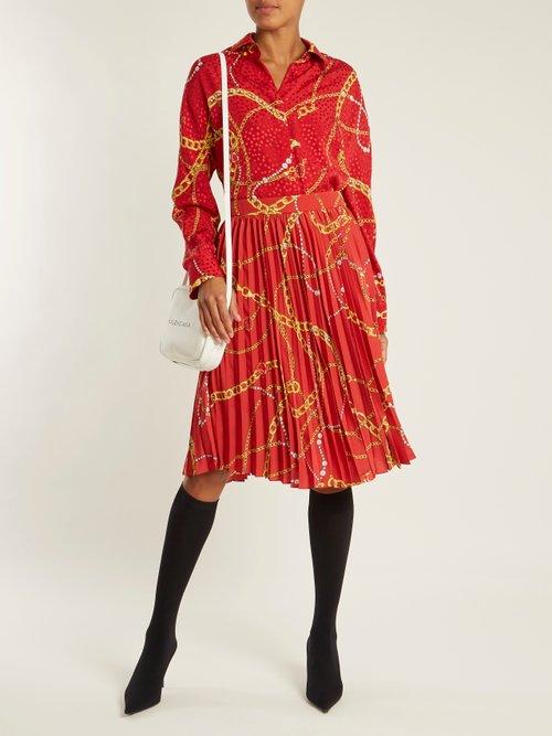 Cocoon blouse by Balenciaga