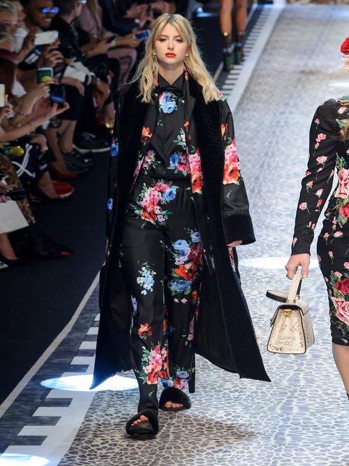 Floral-print silk-blend shirt by Dolce & Gabbana