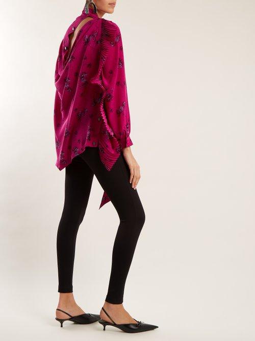 Multi Snaps blouse by Balenciaga