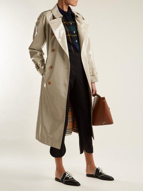 Strenton tartan-wool shirt by Burberry