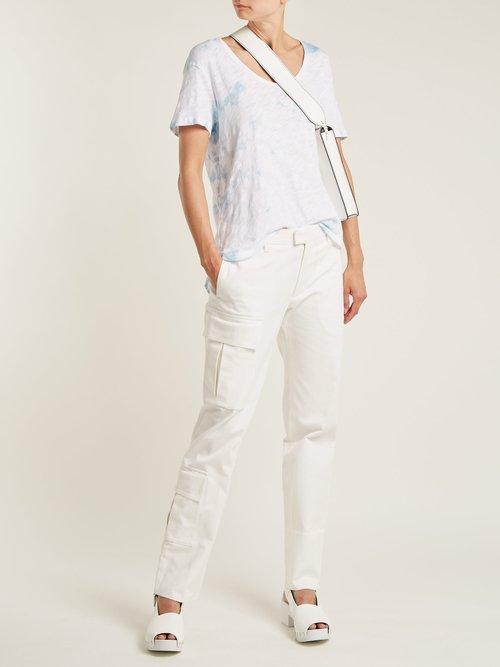 Boyfriend V-neck cotton T-shirt by Atm