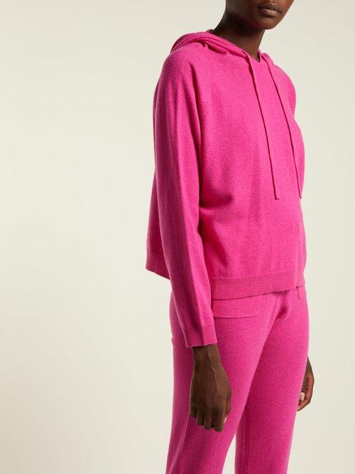 Wool-blend hooded sweatshirt by Allude