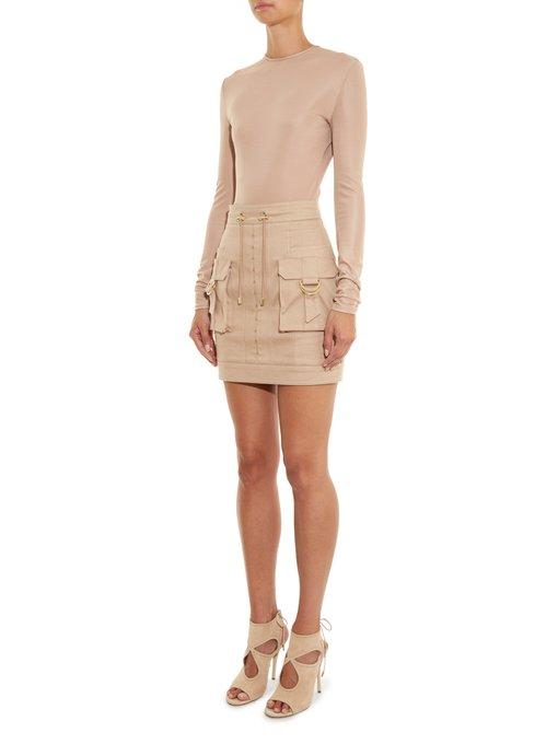 Cargo Pocket Skirt 43