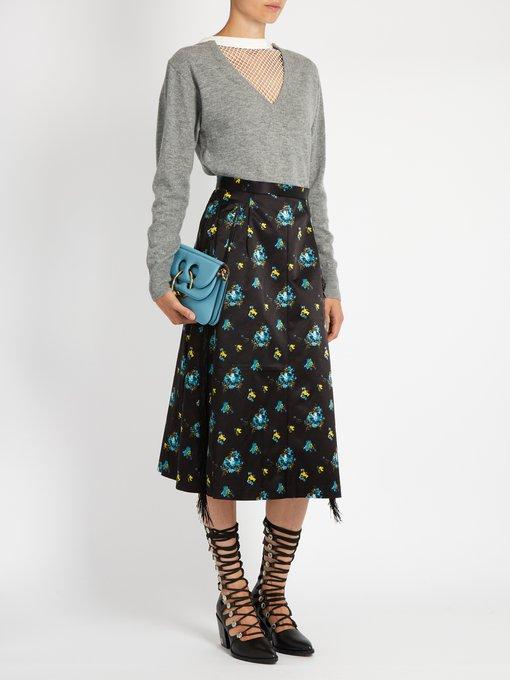 Floral-print A-line midi skirt   Toga   MATCHESFASHION.COM US