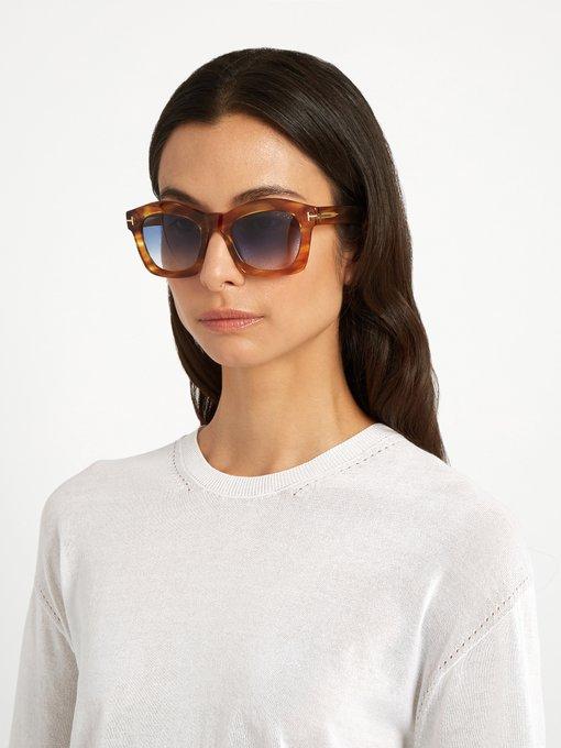 Greta Acetate Sunglasses Tom Ford Eyewear