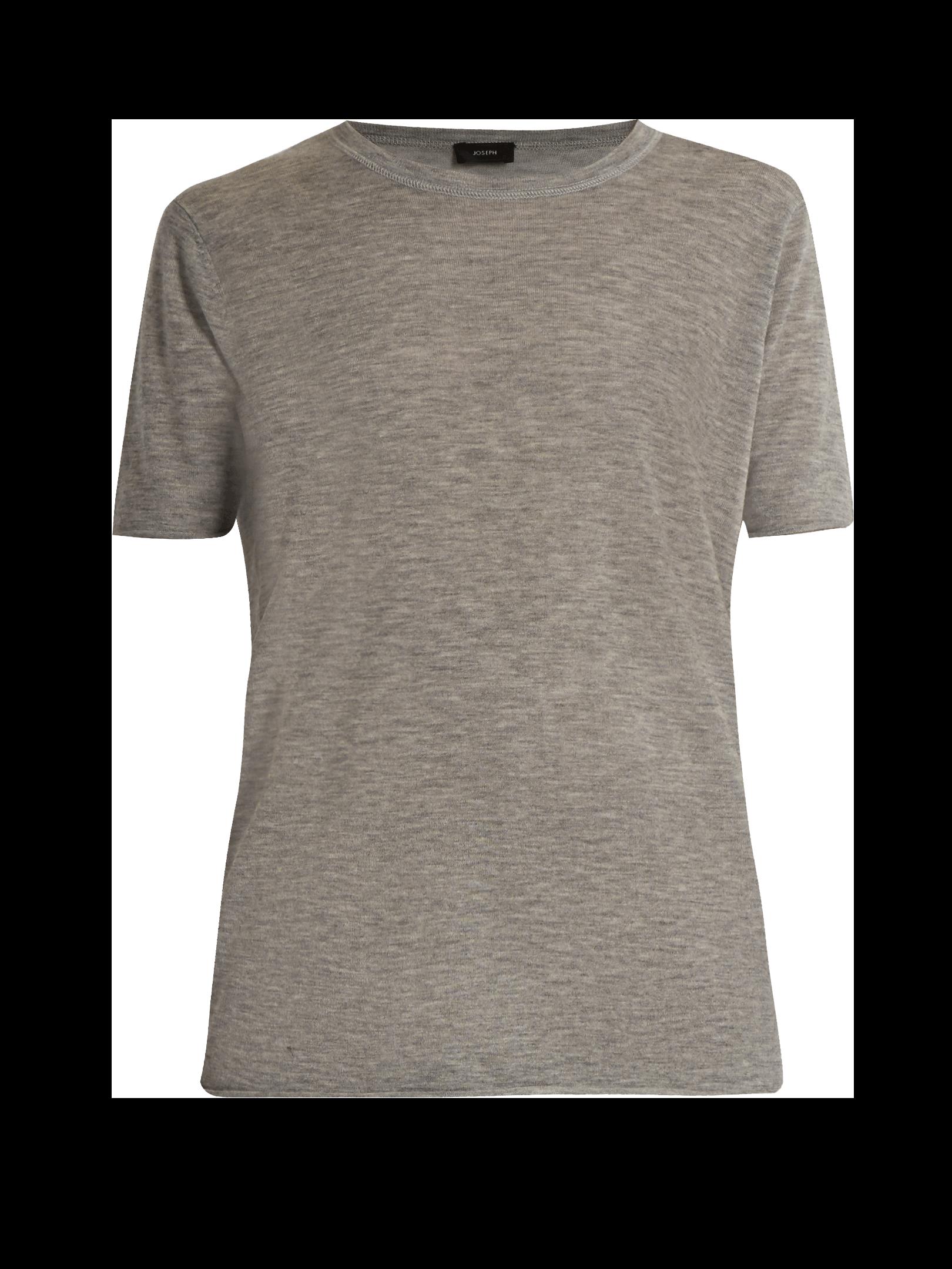 JOSEPH Cashair crew-neck cashmere T-shirt
