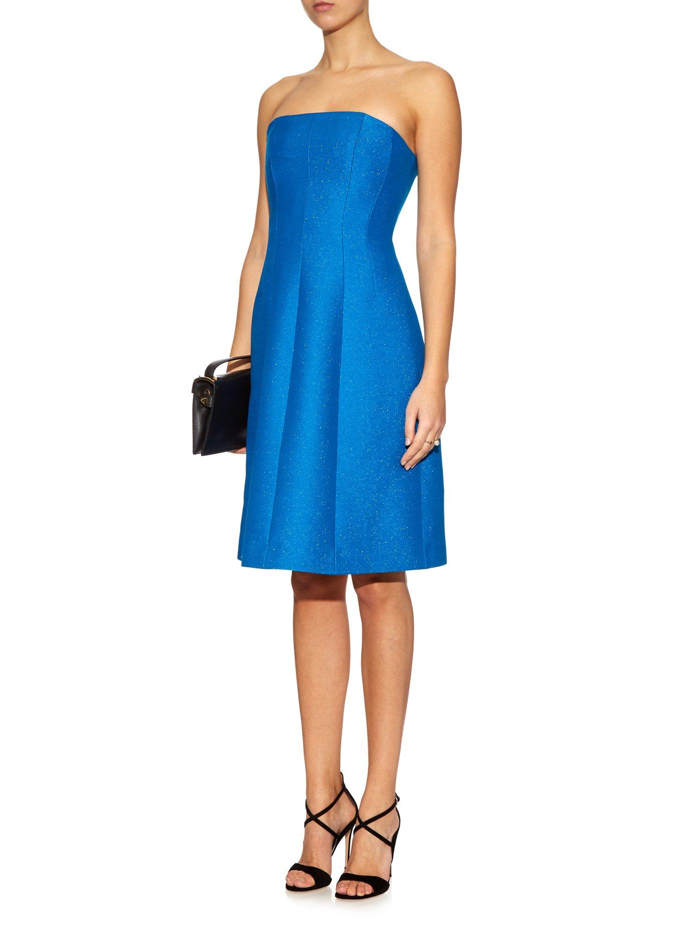 Derya strapless dress by Jonathan Saunders