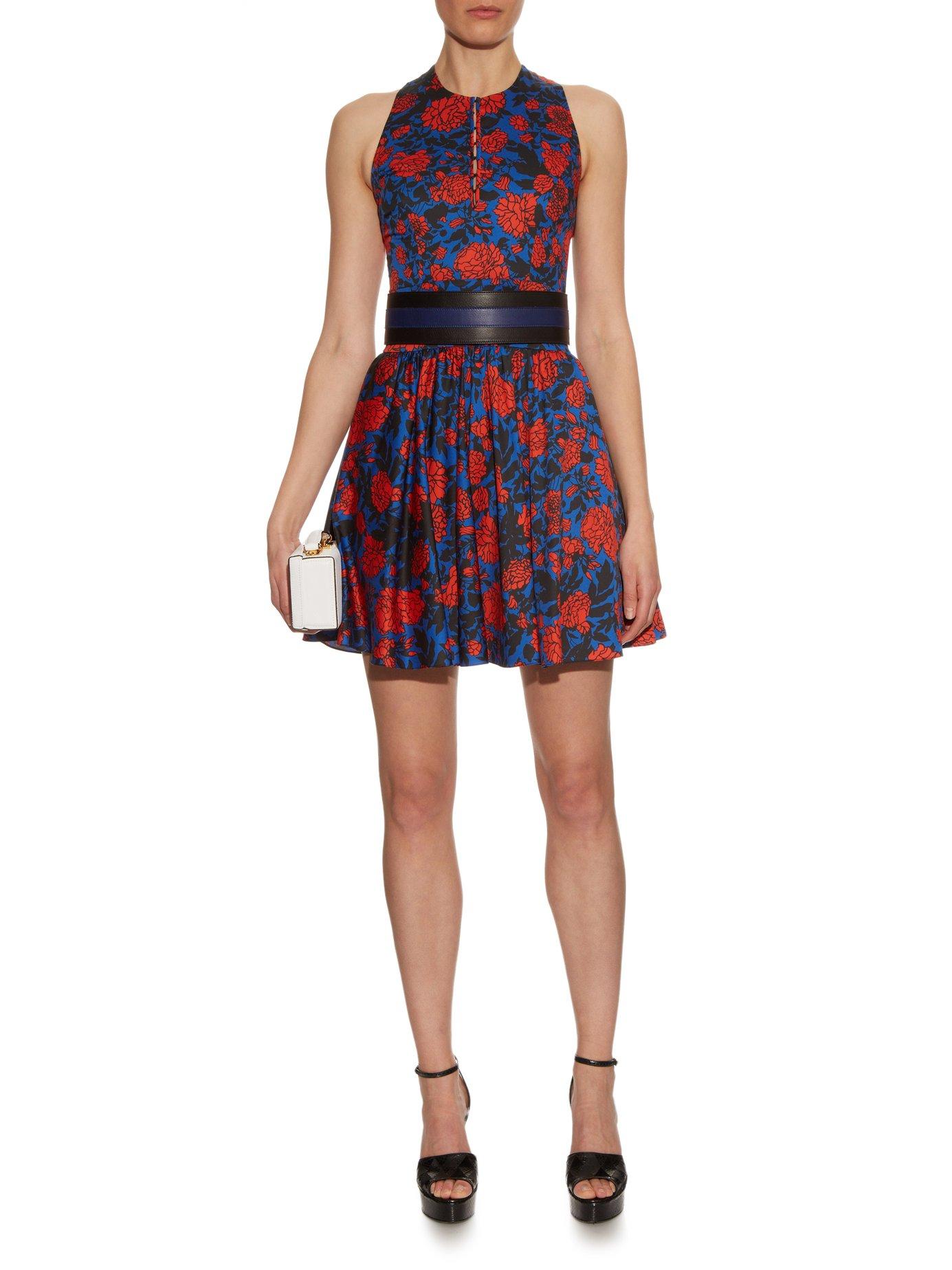 Jeanne floral-print dress by Sophie Theallet