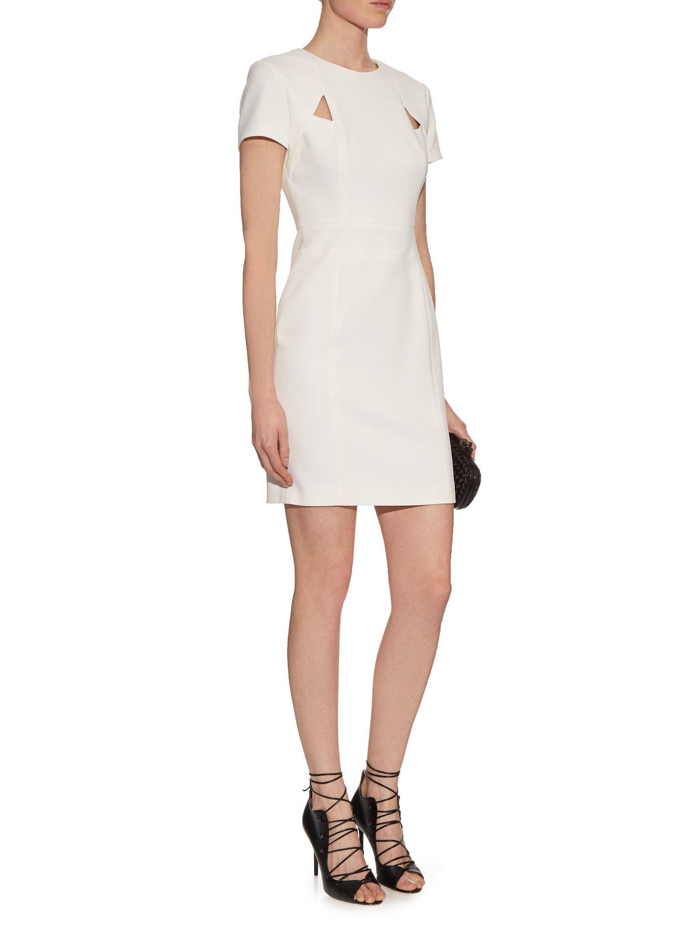 Senso cut-out crepe dress by La Mania