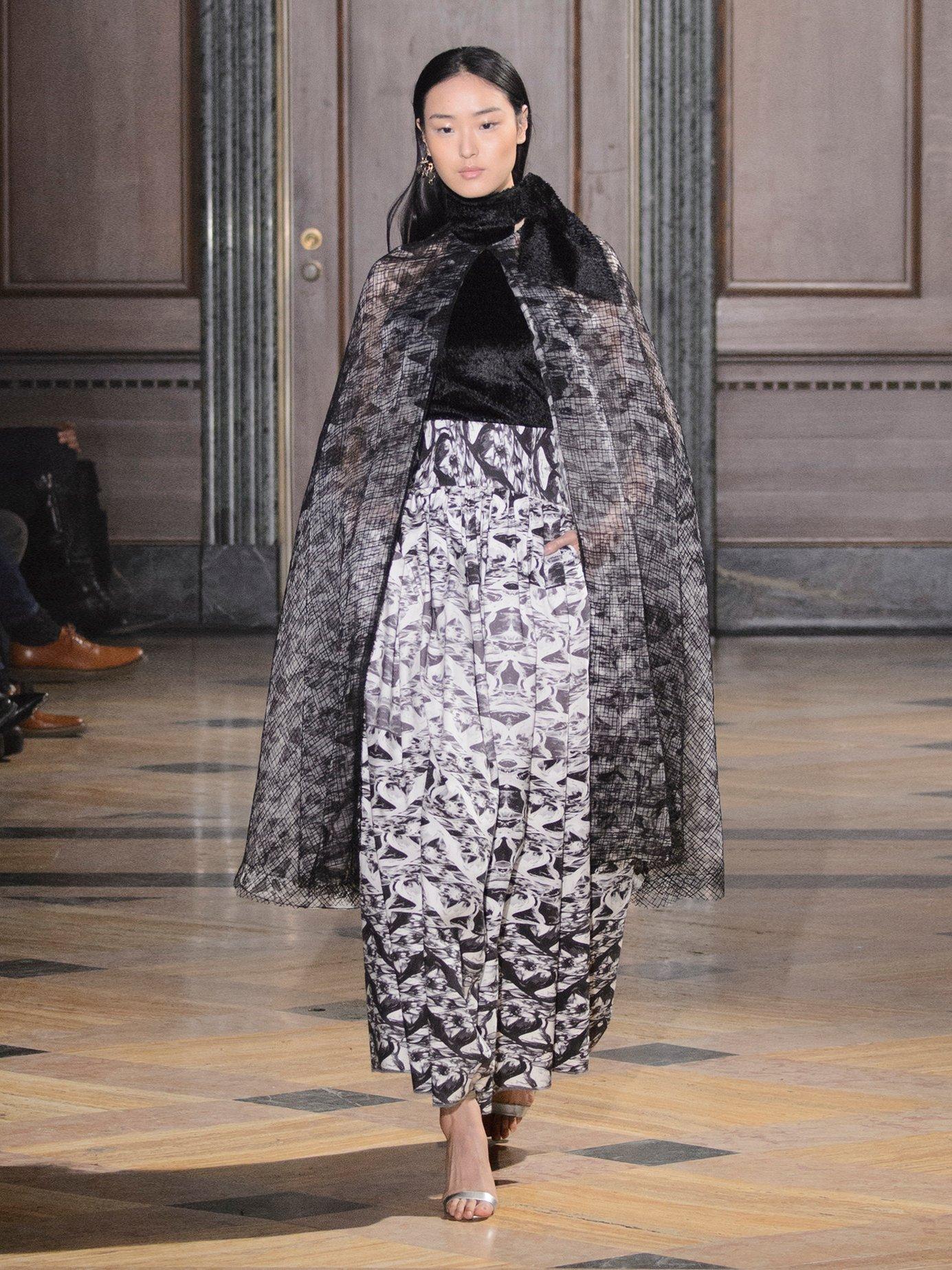 Veronica halterneck textured-velvet top by Sophie Theallet