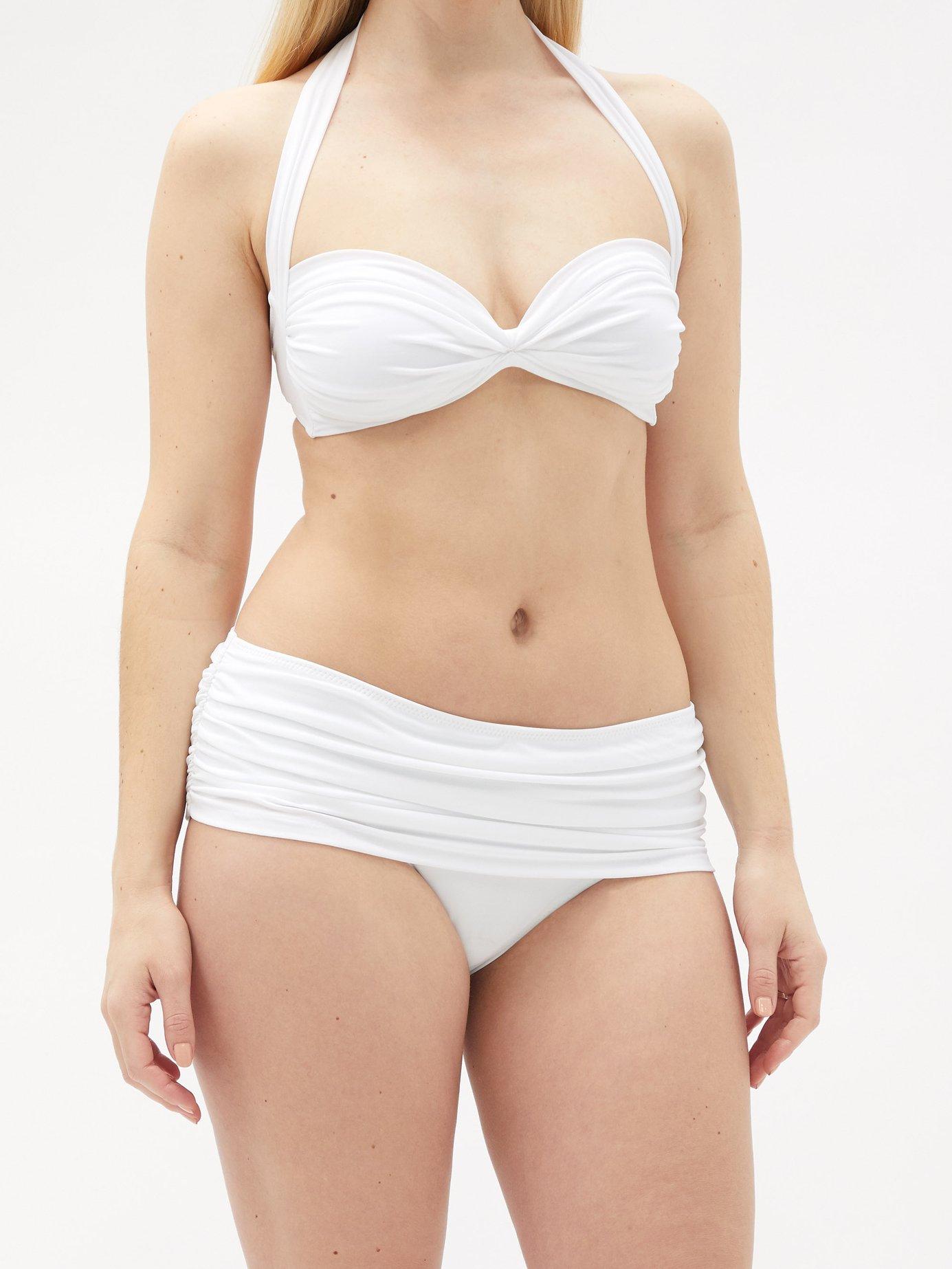 Bill Bra bandeau bikini top by Norma Kamali