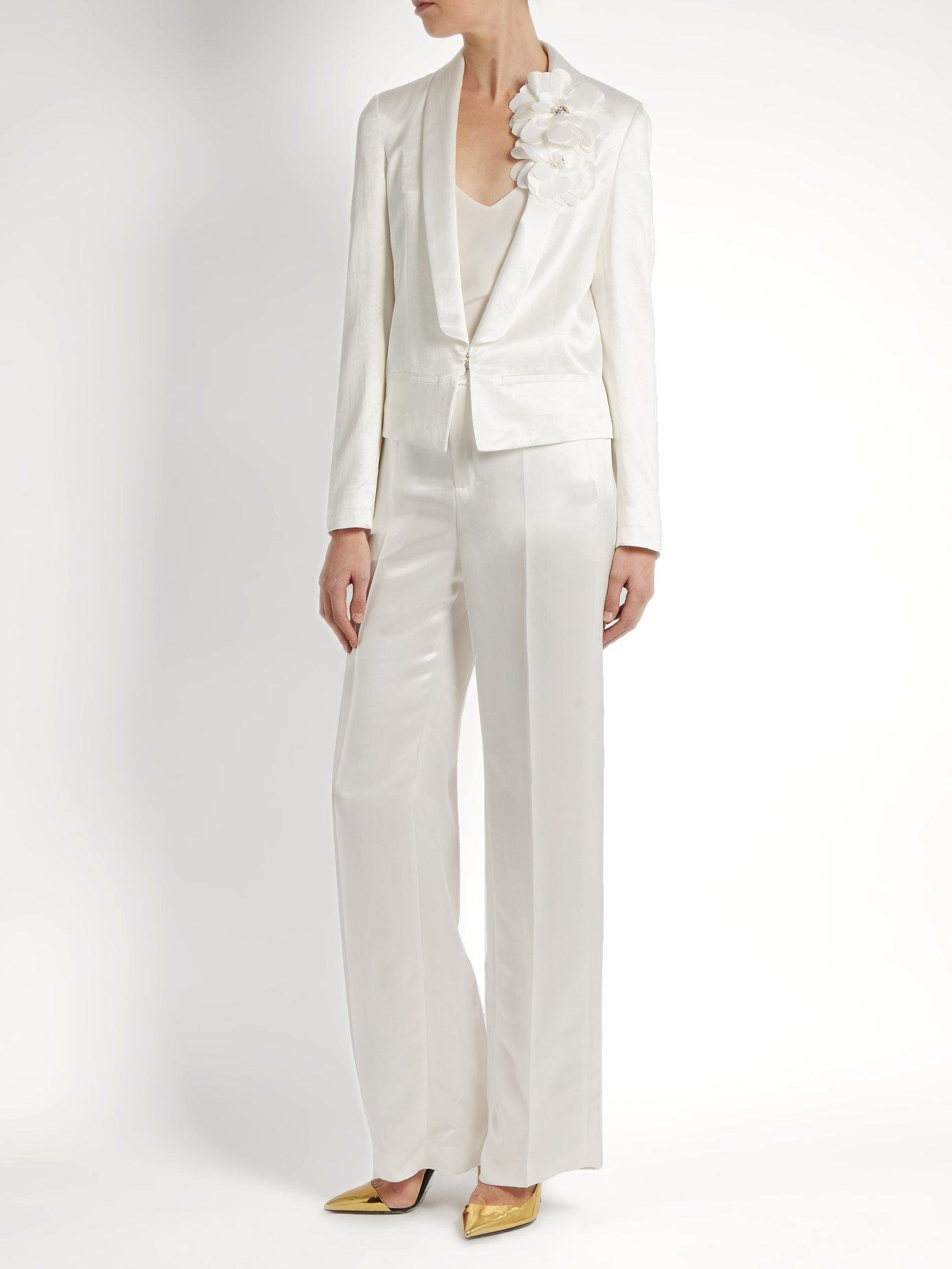 Shawl-lapel tuxedo jacket by Lanvin