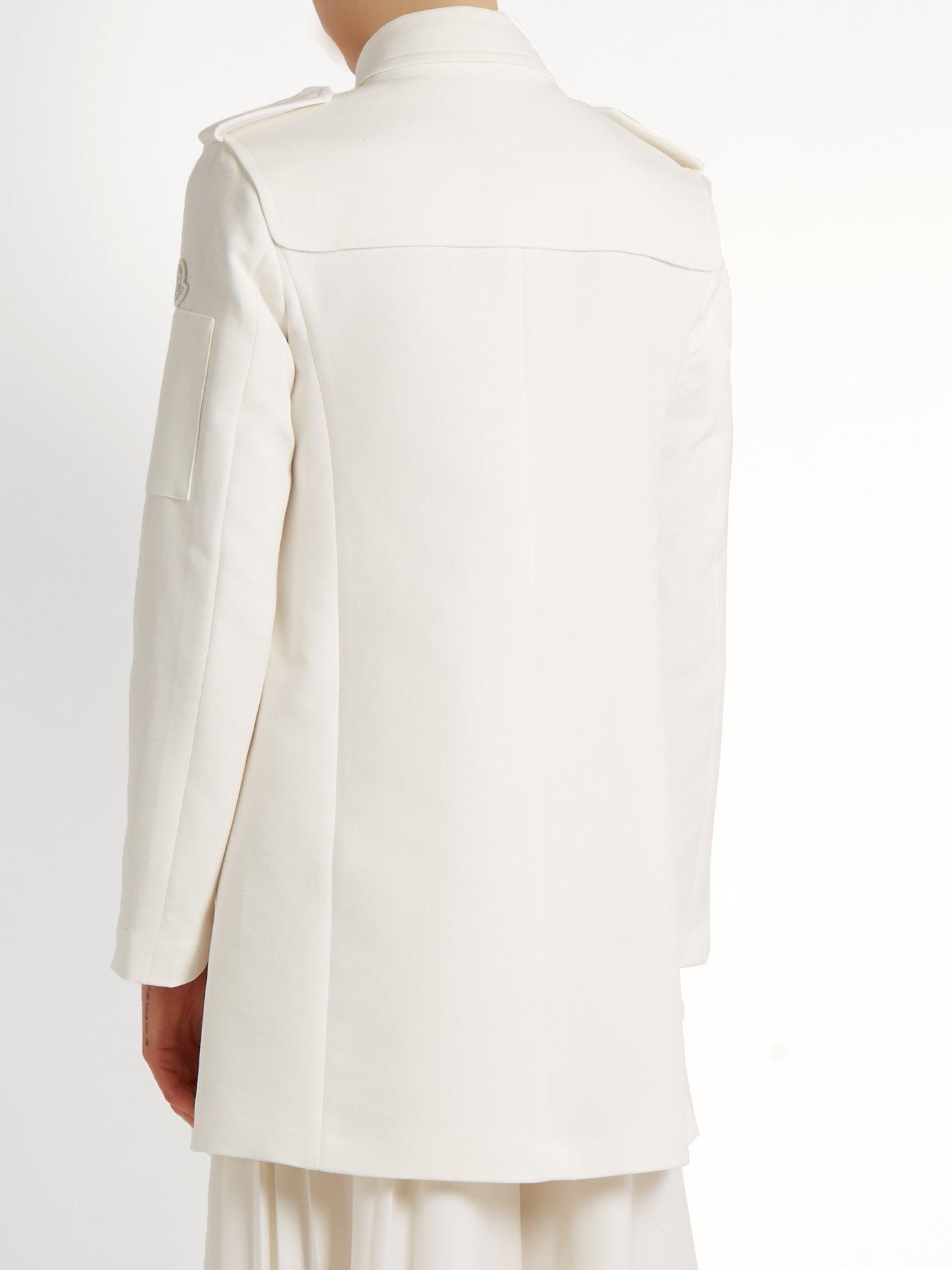 Lera K cotton coat by Moncler Gamme Rouge