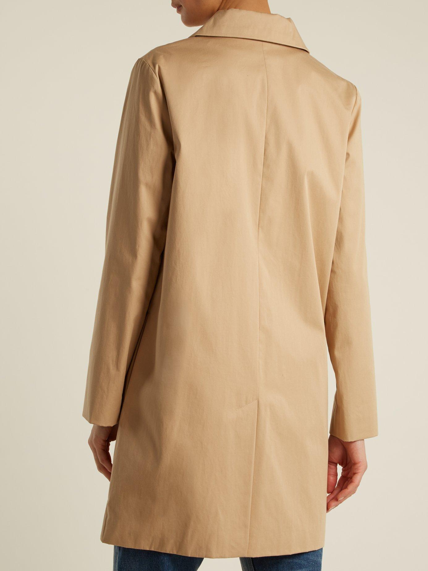 Dolly cotton-blend gabardine coat by A.P.C.