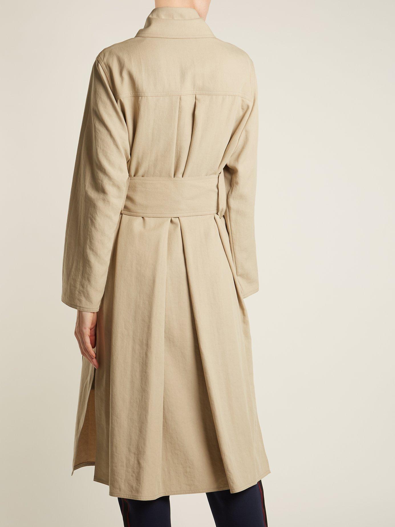 Creda lightweight trench coat by Acne Studios