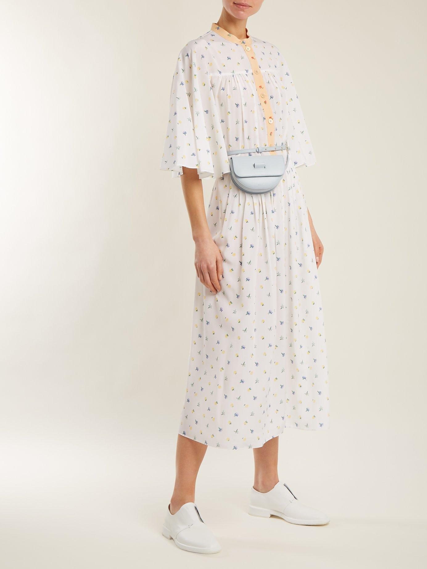 Morrisson floral-print silk dress by Joseph