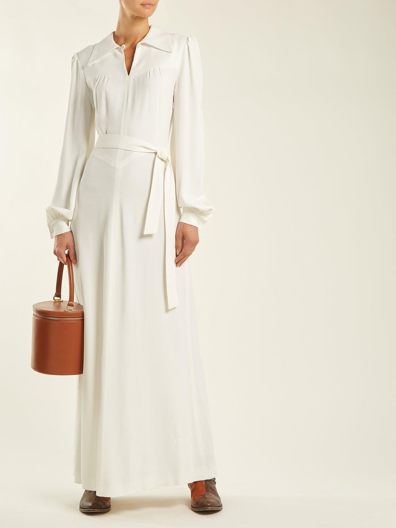 Karianne crepe dress by Bella Freud