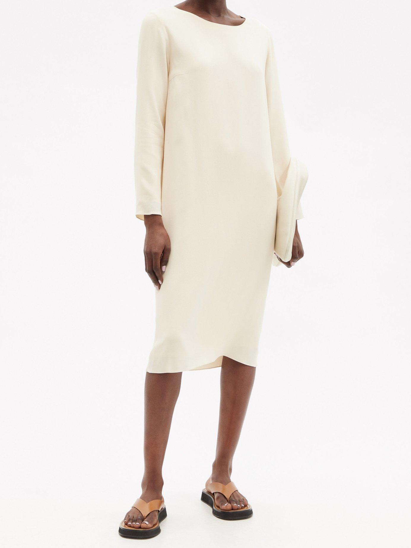 Larina crepe tunic-dress by The Row