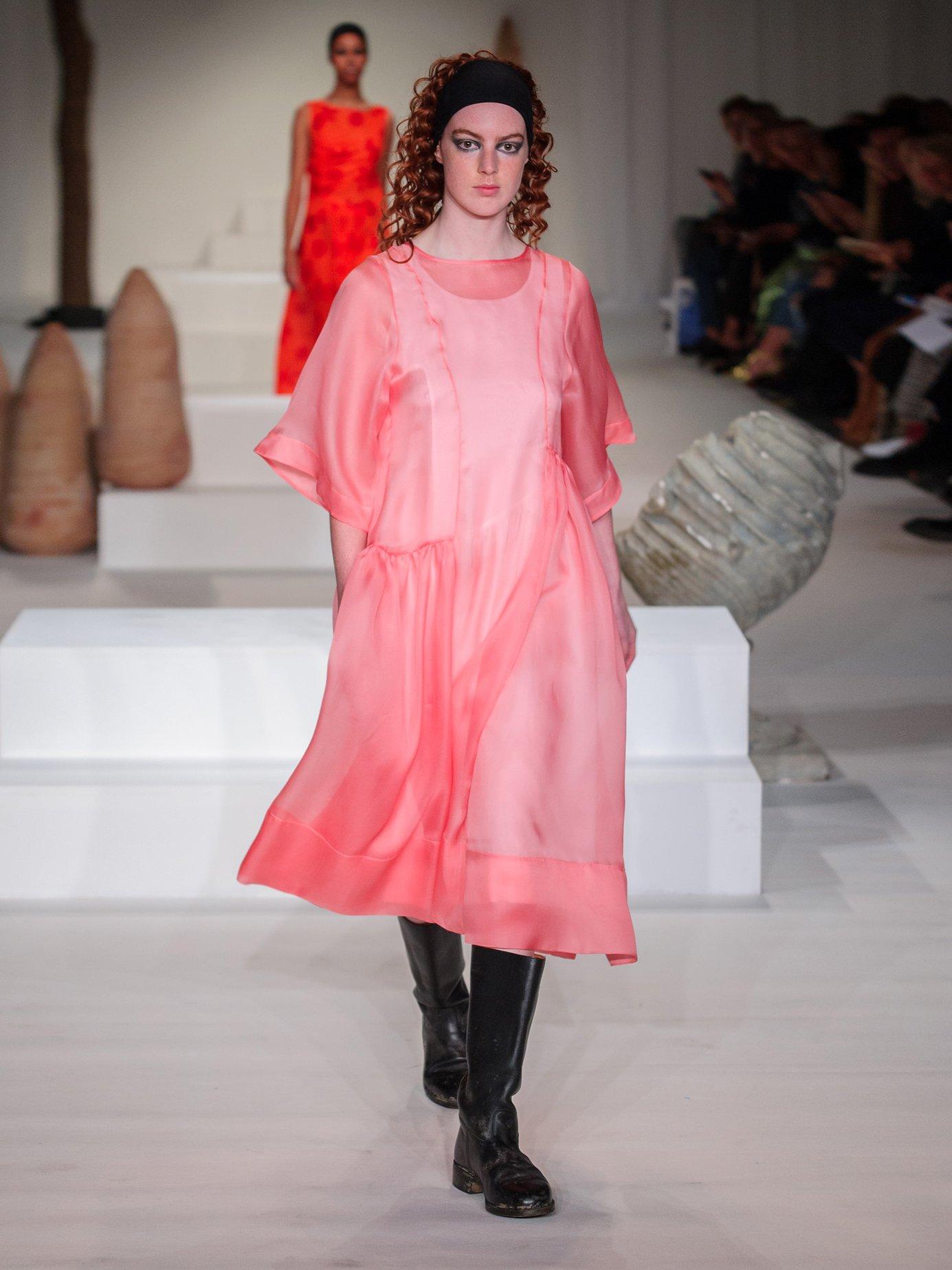 Laurelai silk-organza dress by Molly Goddard