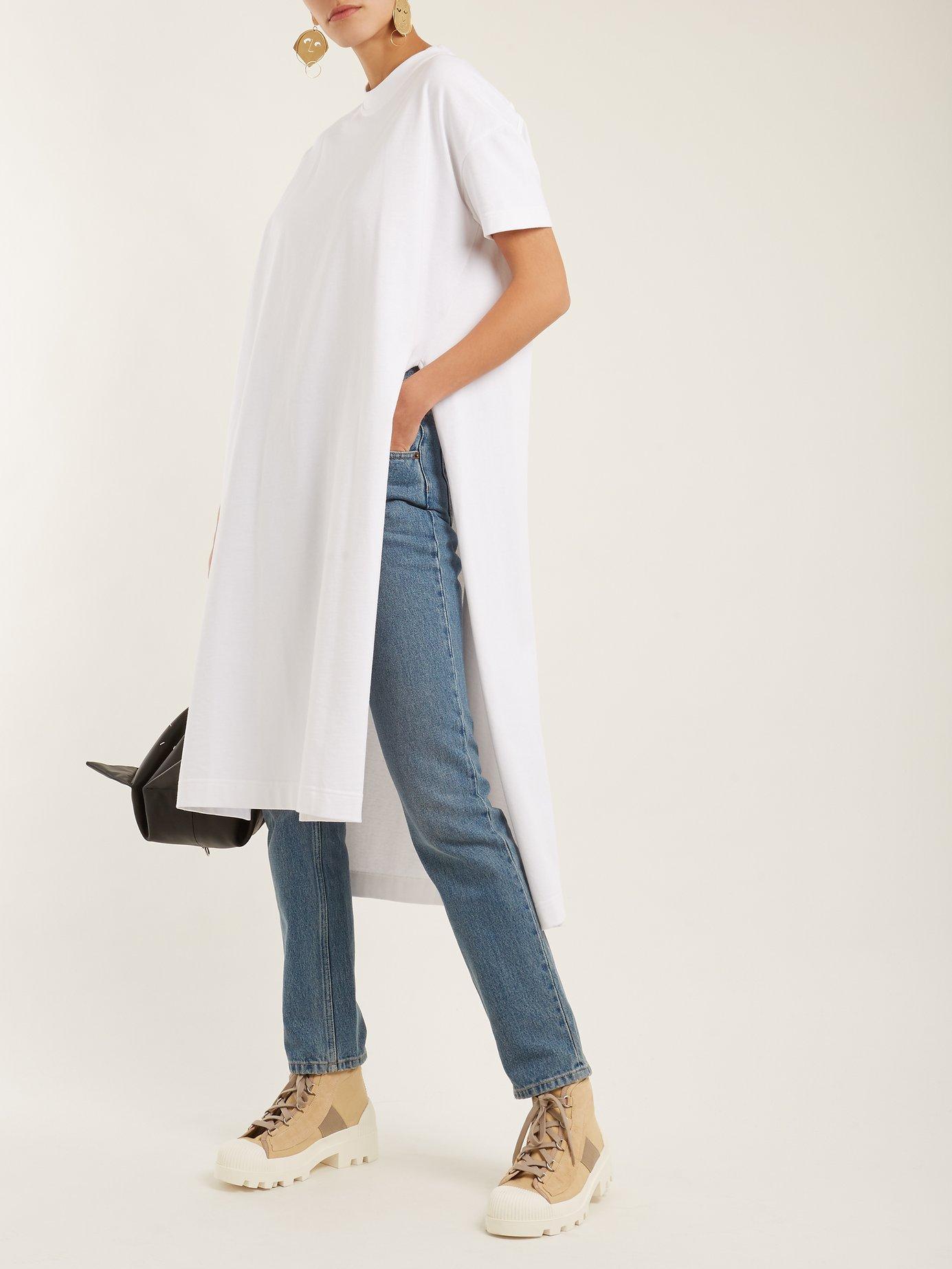 Patri cotton T-shirt dress by Acne Studios