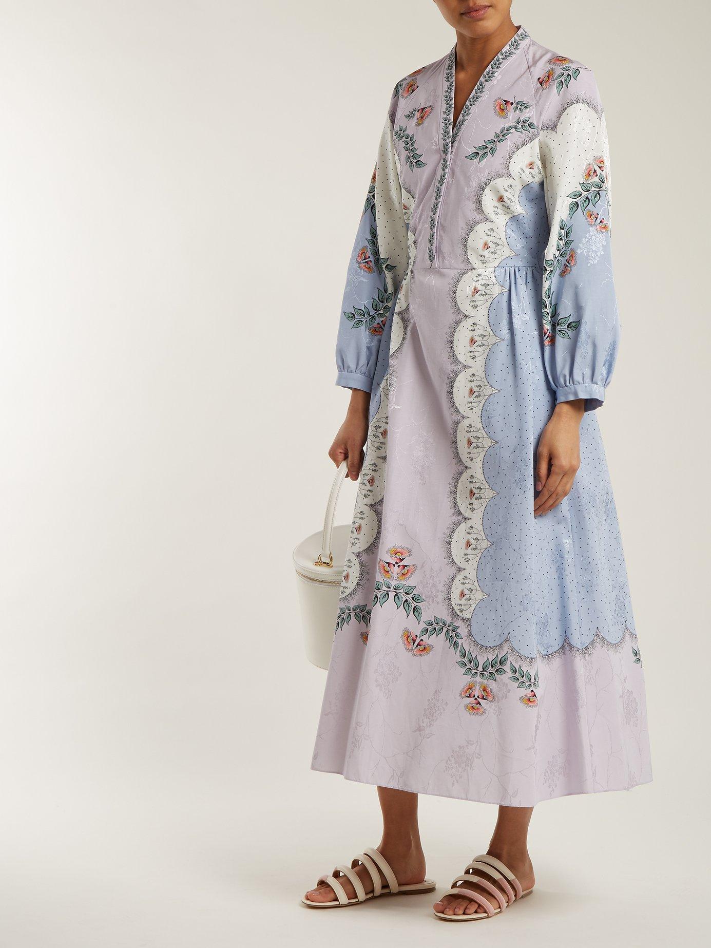 Estella floral-print dress by Vilshenko