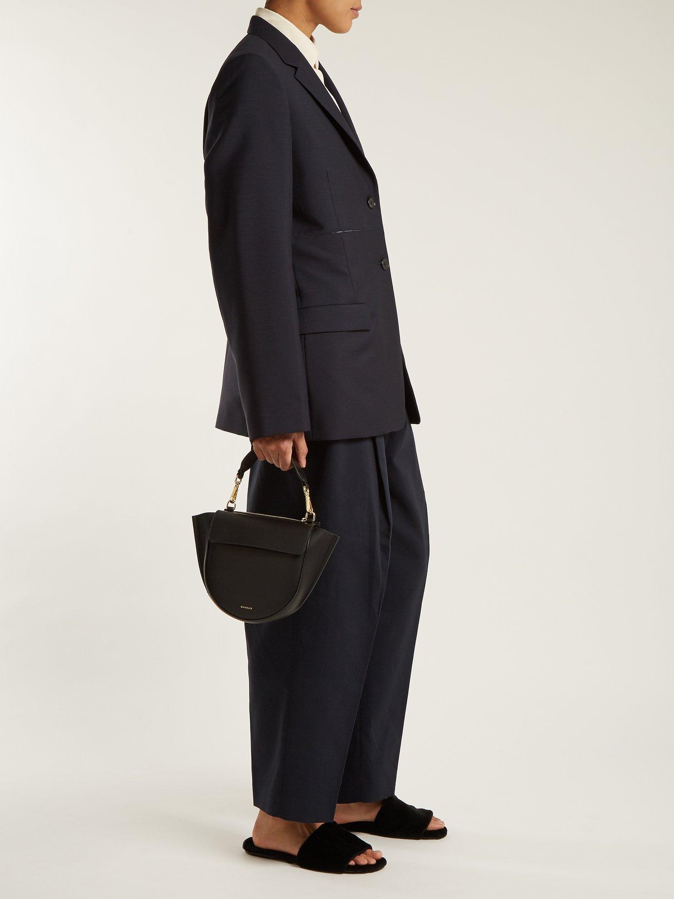 Emerson contrast-seam jacket by Jil Sander