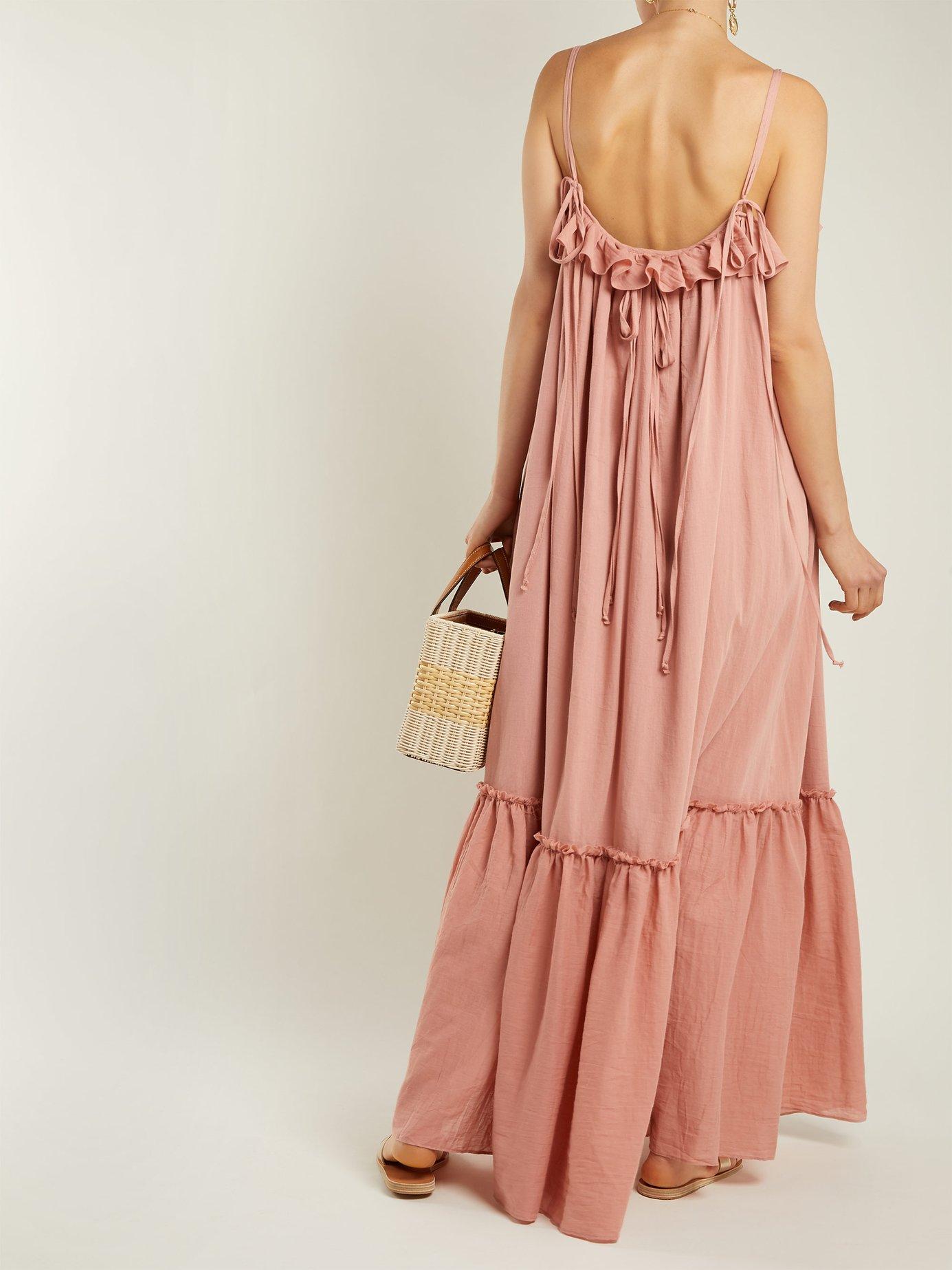 Artemis cotton dress by Loup Charmant