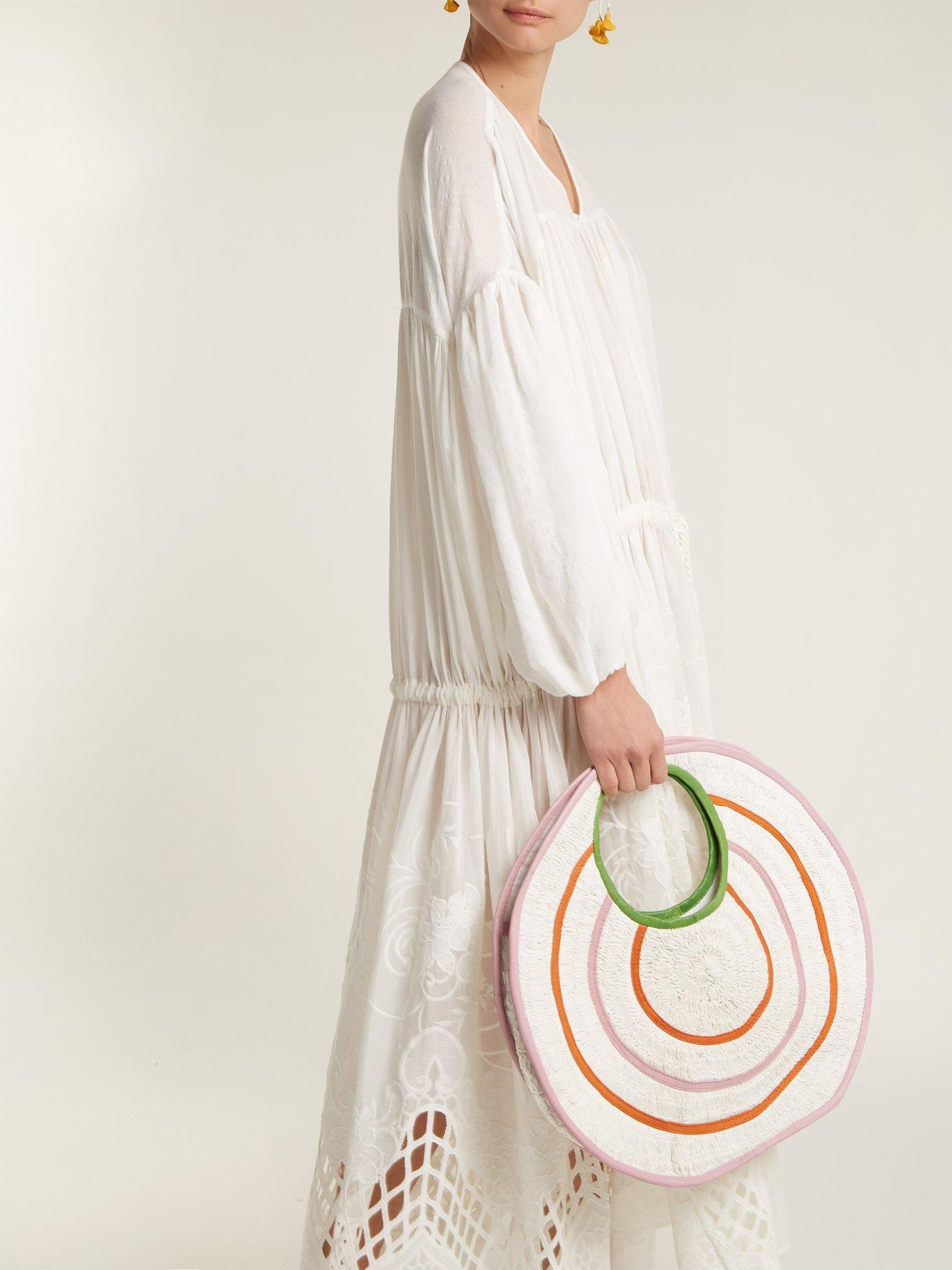 Guipure-lace cotton dress by Love Binetti