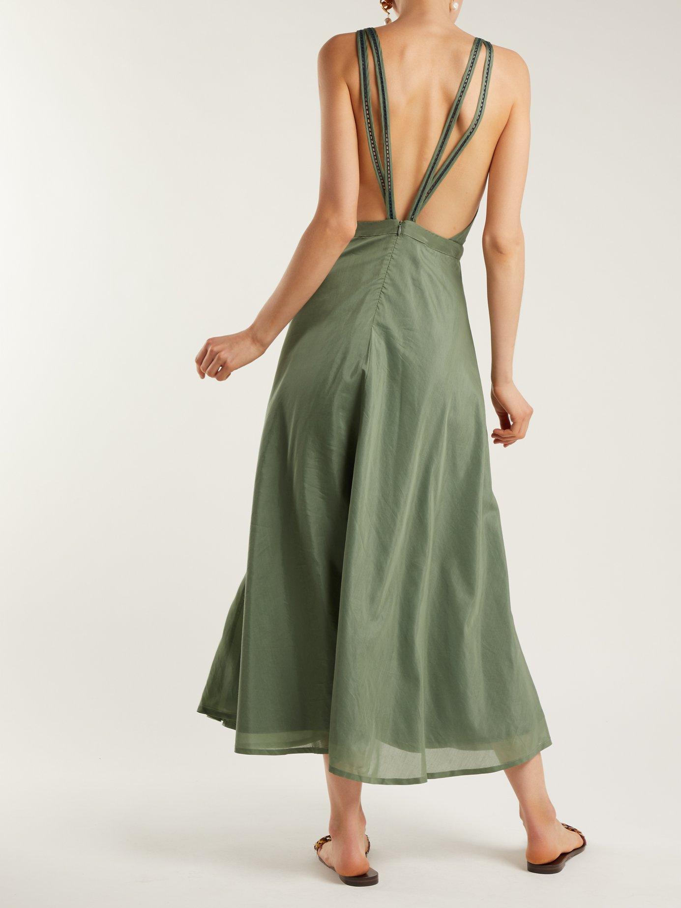 Jagger cotton-blend dress by Kalita