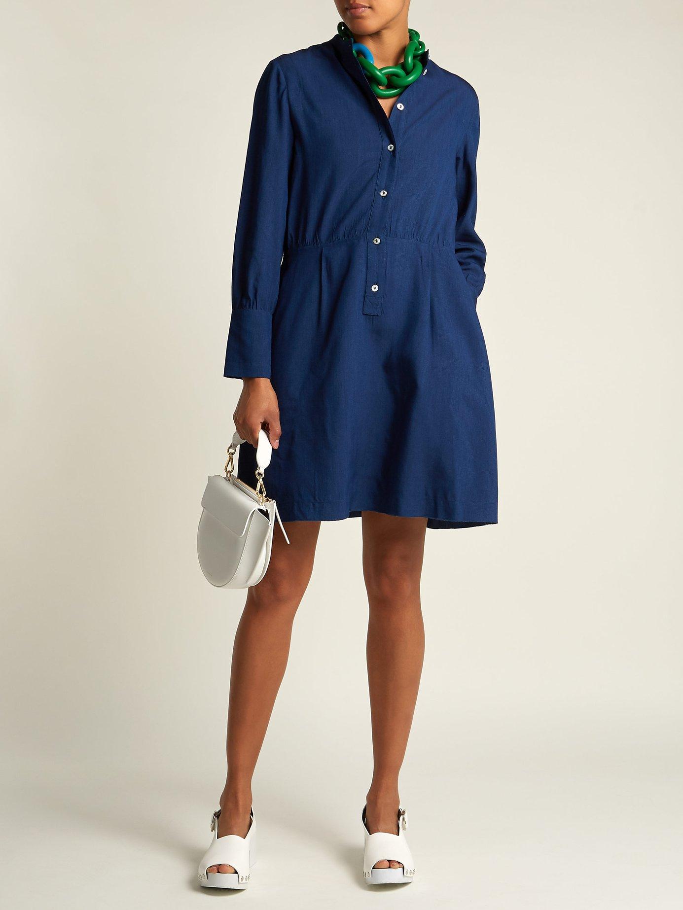 Kimya long-sleeve midi dress by A.P.C.