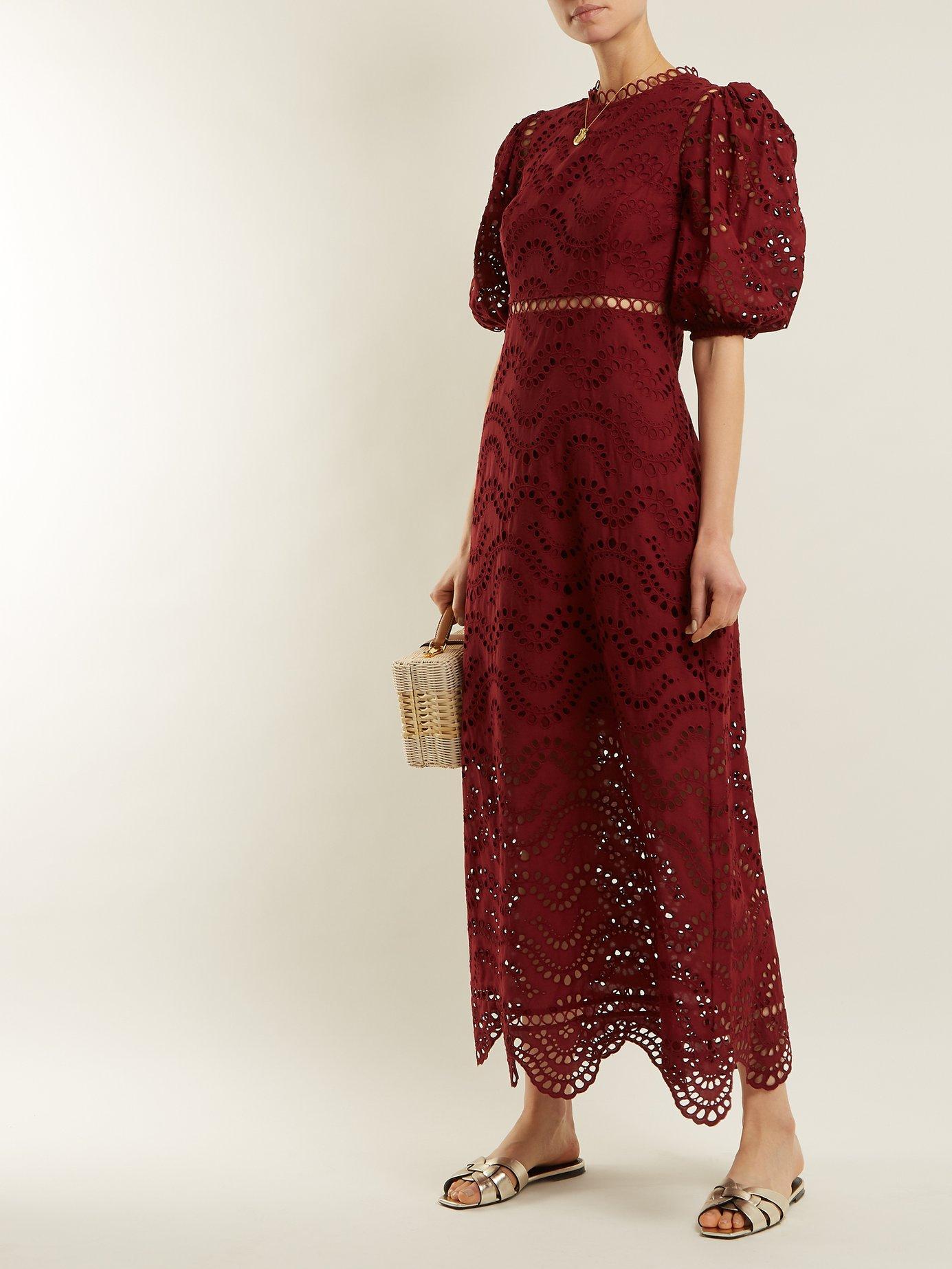 Jaya Wave cotton dress by Zimmermann