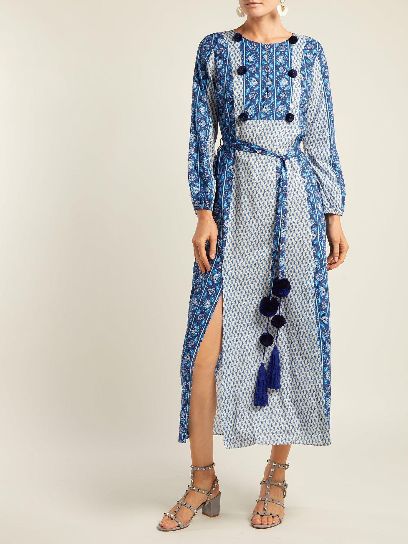 Ravenna cotton maxi dress by Figue