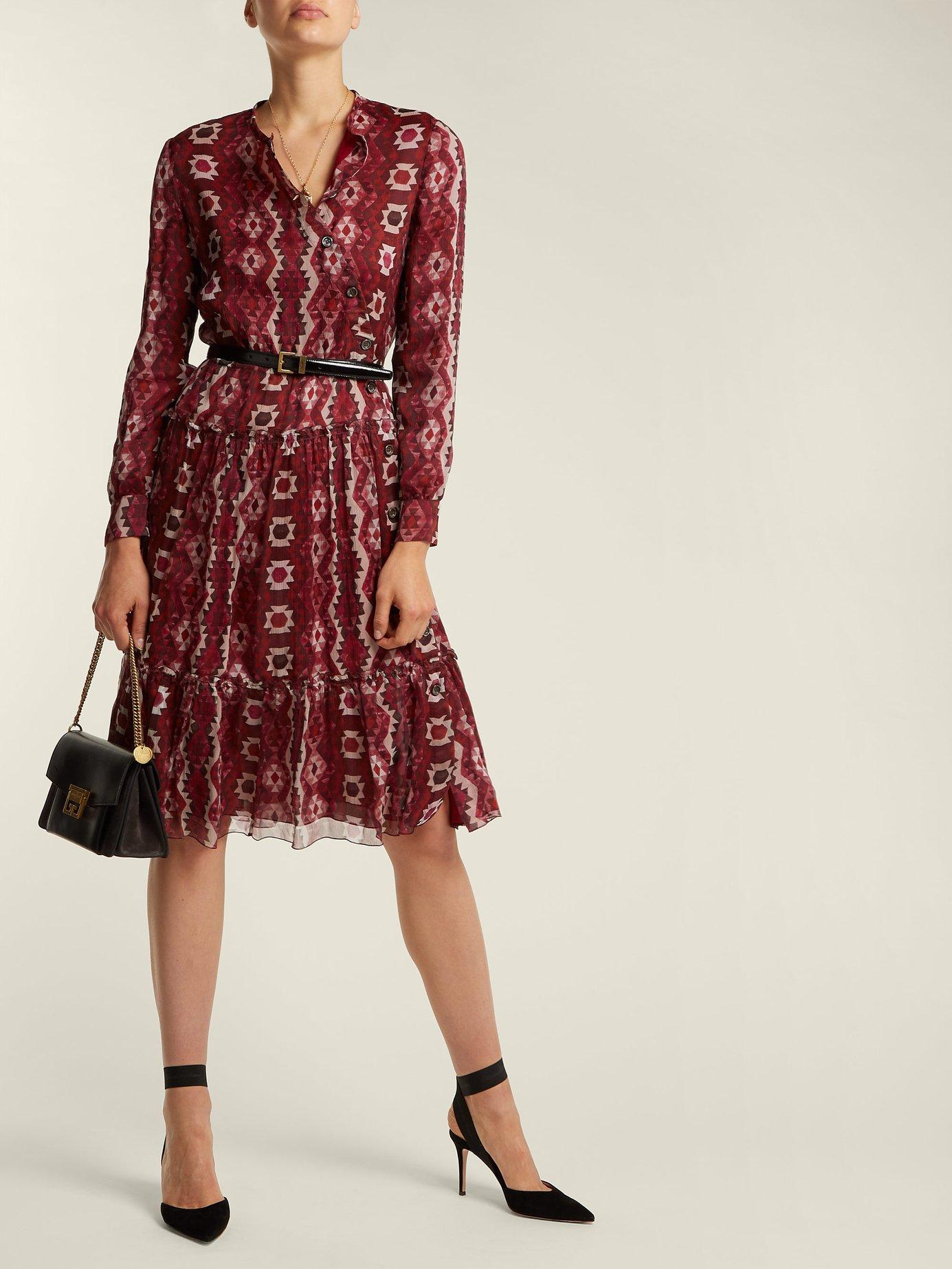 Agadir chiffon dress by Altuzarra