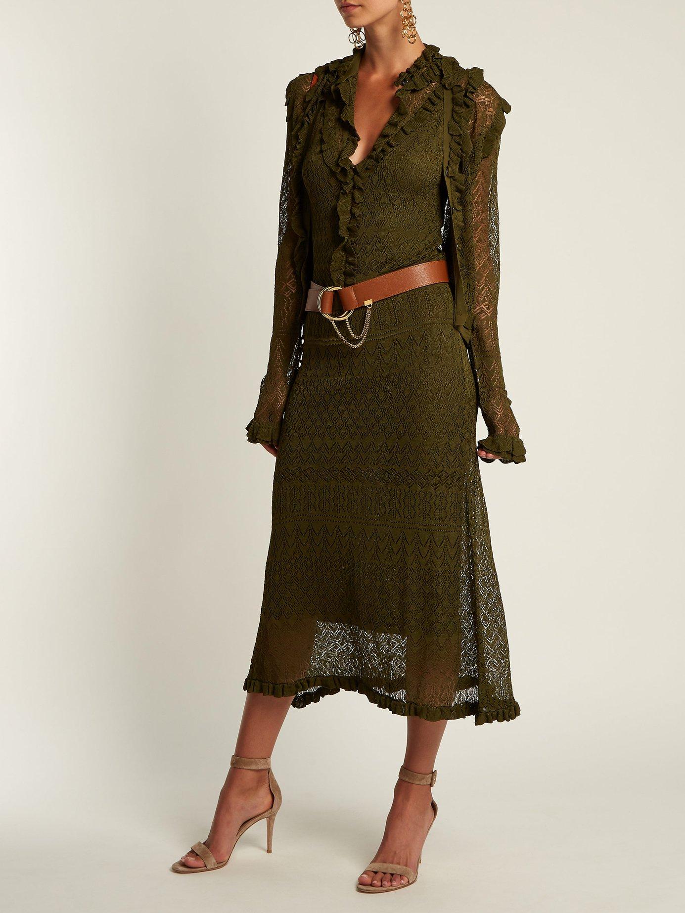 Butterfield pointelle-knit dress by Altuzarra