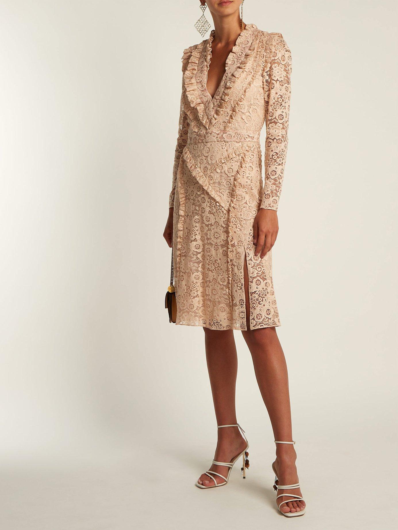 Ourika Valencienne-lace dress by Altuzarra