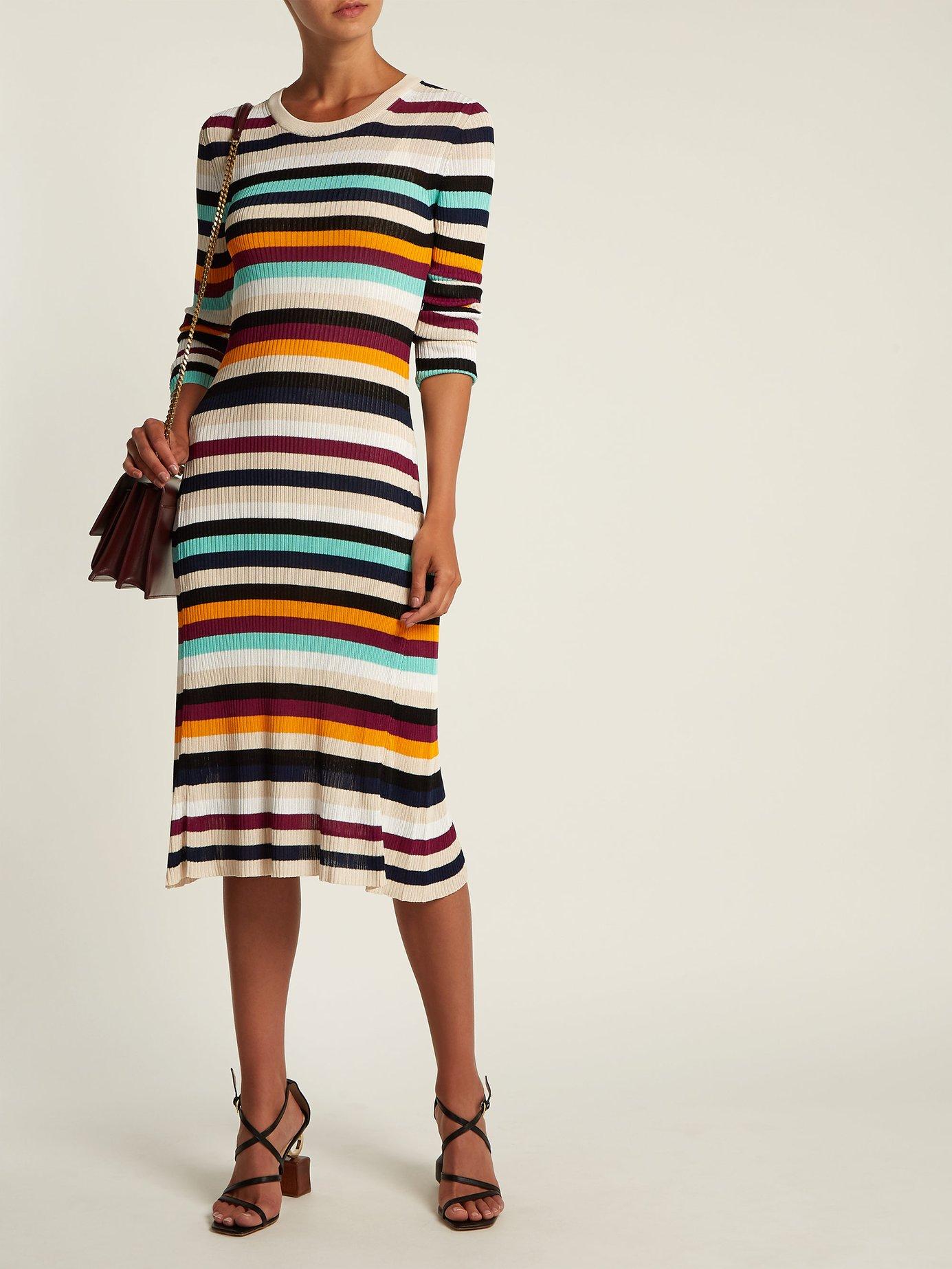 Stills striped knitted dress by Altuzarra
