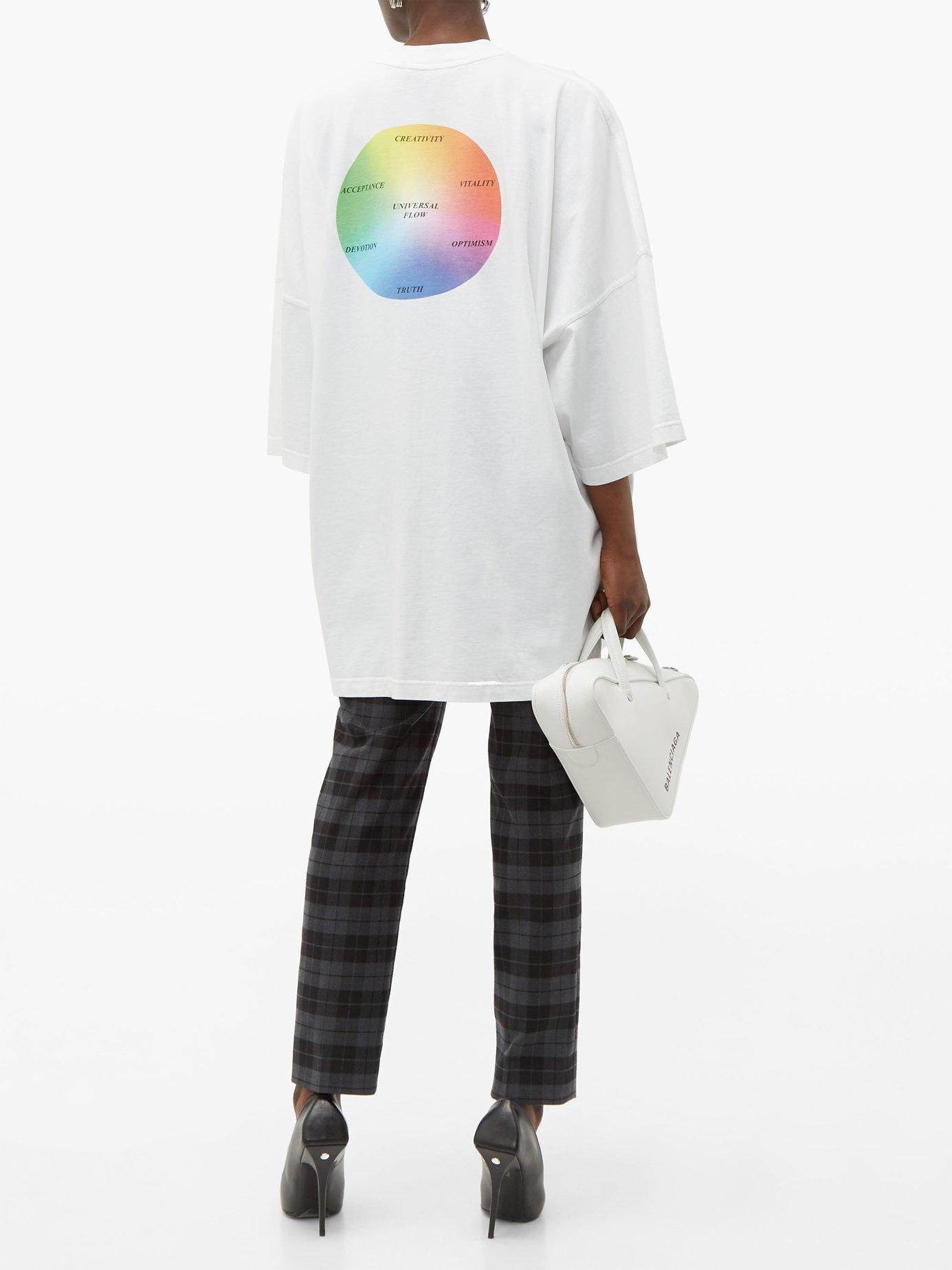 Universal Flow cotton T-shirt by Balenciaga