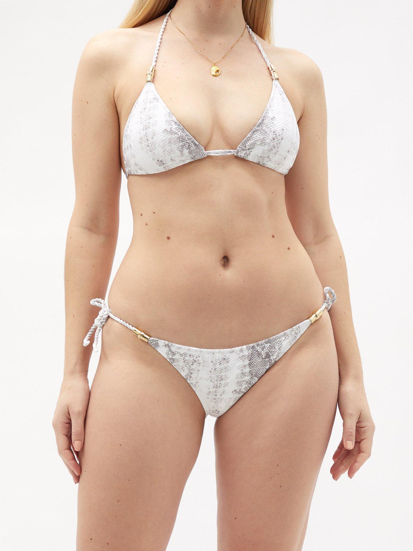 Core tie-side bikini briefs by Heidi Klein