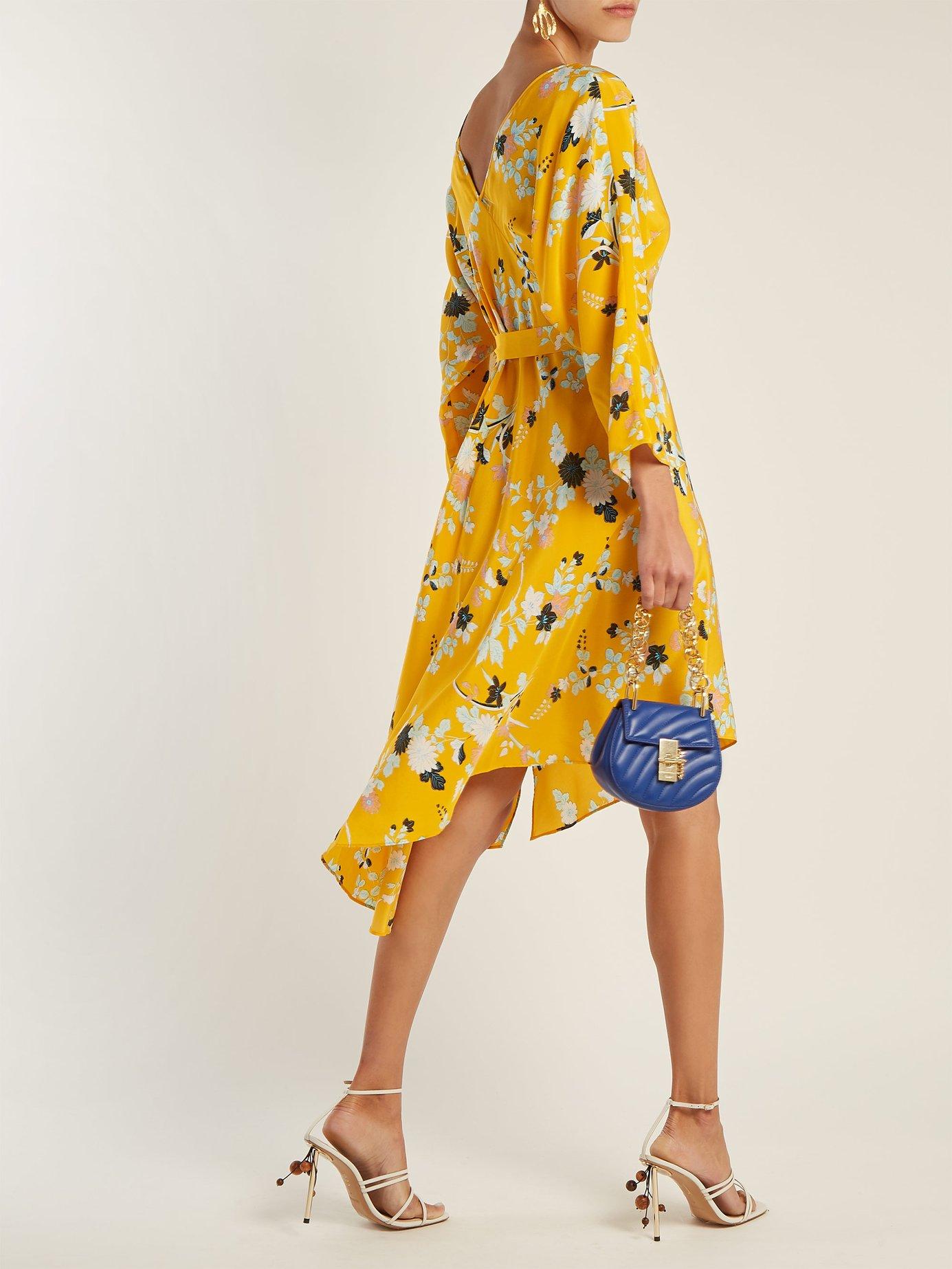 Eloise silk wrap dress by Diane Von Furstenberg