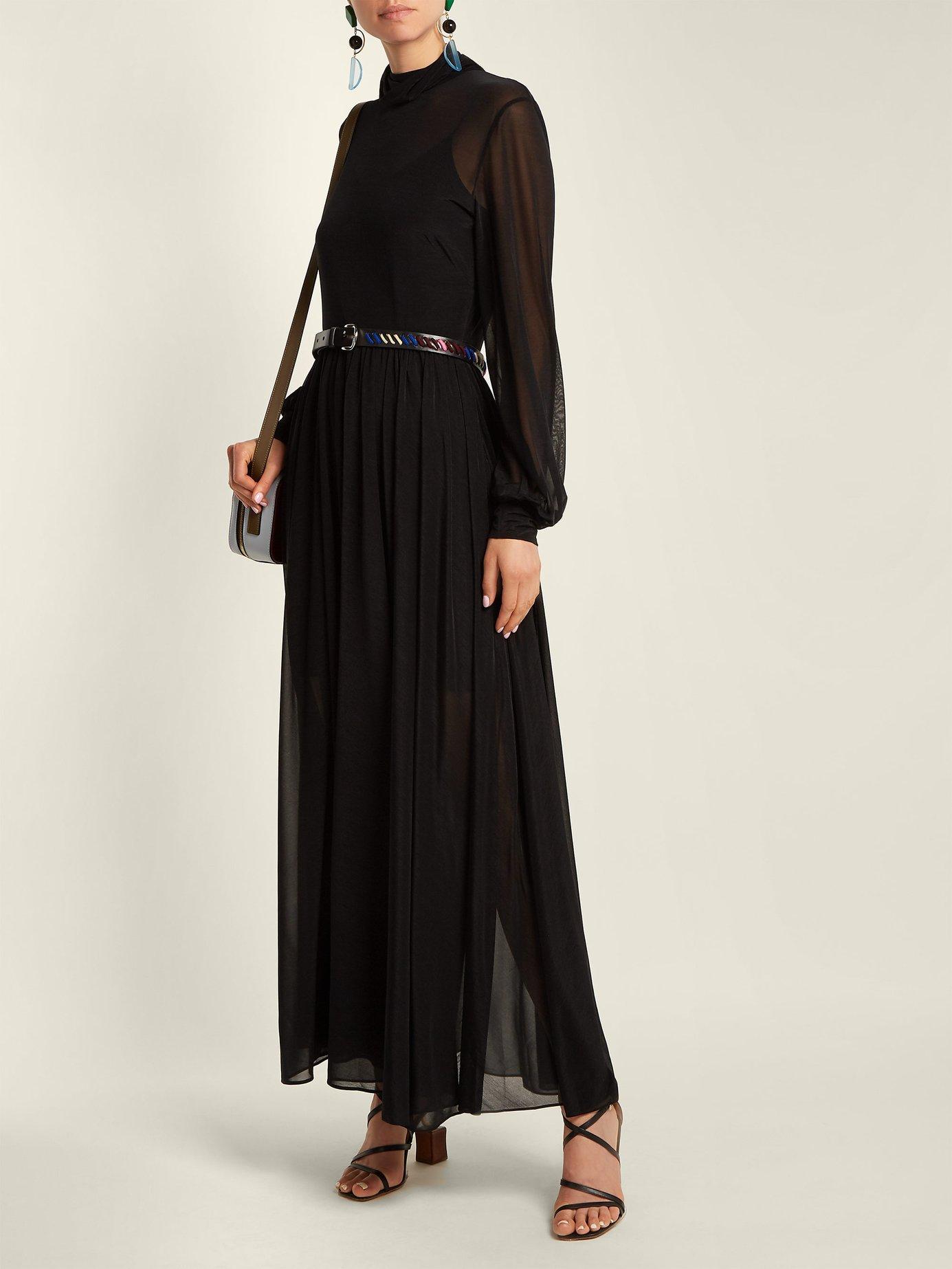 High-neck maxi dress by Diane Von Furstenberg