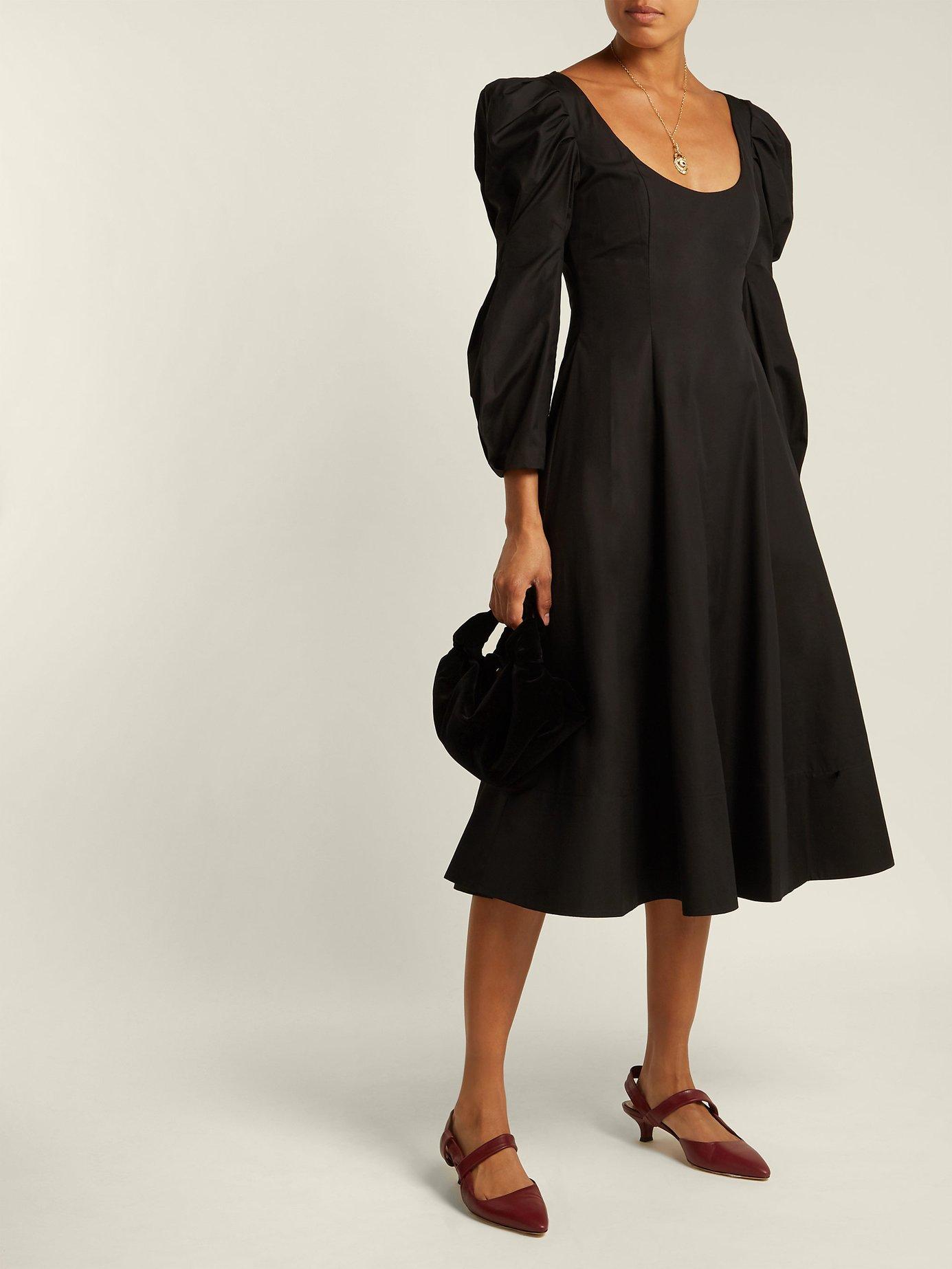 Edwina bodice cotton dress by Khaite