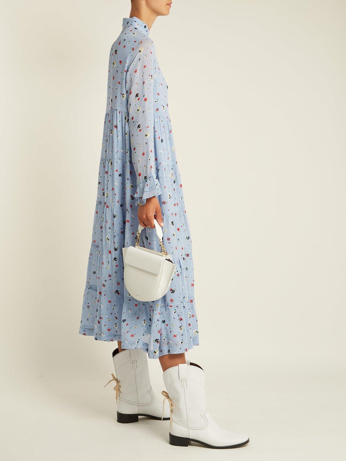 Dainty georgette dress by Ganni