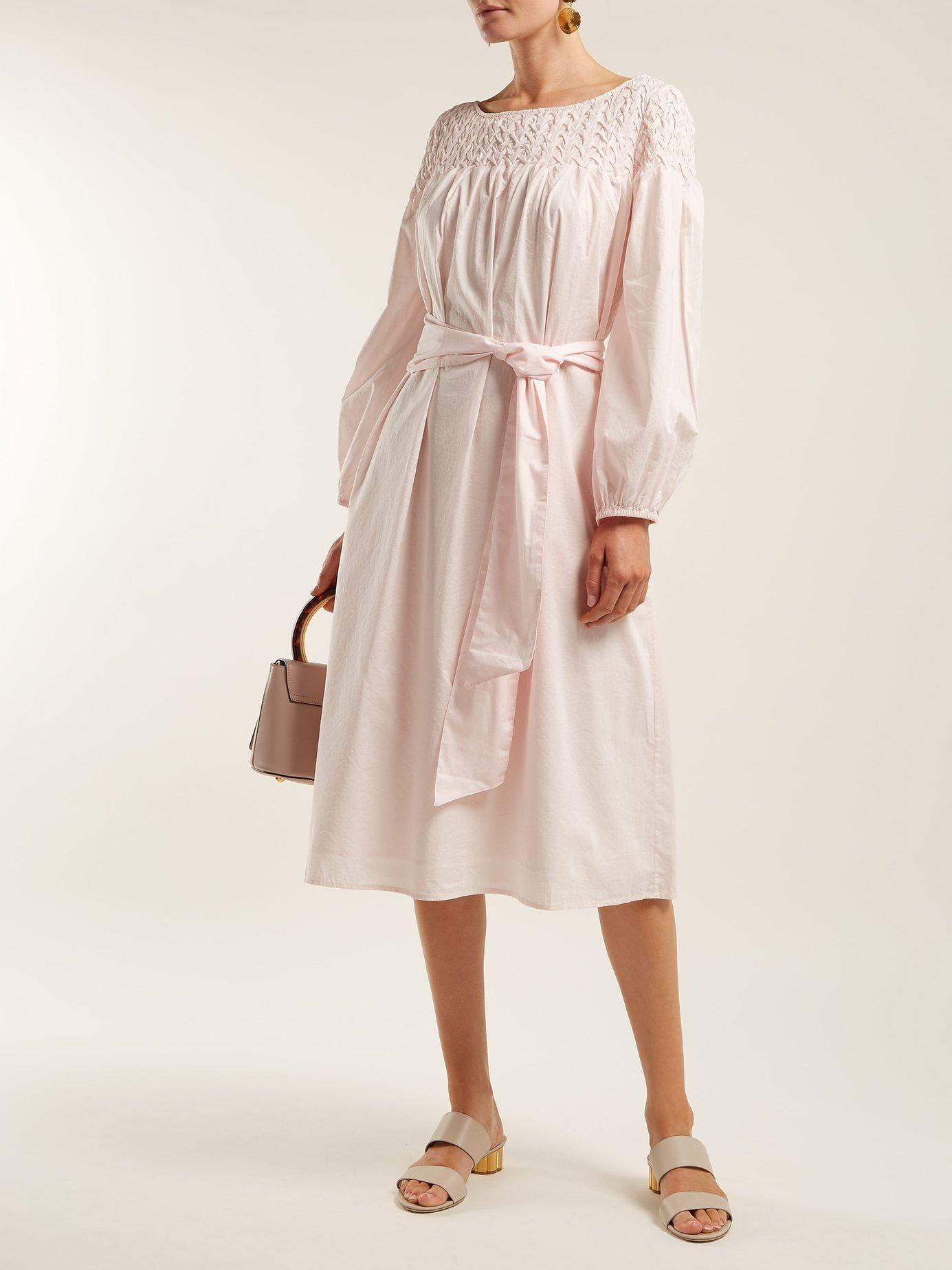 Bonaire belted smock dress by Merlette