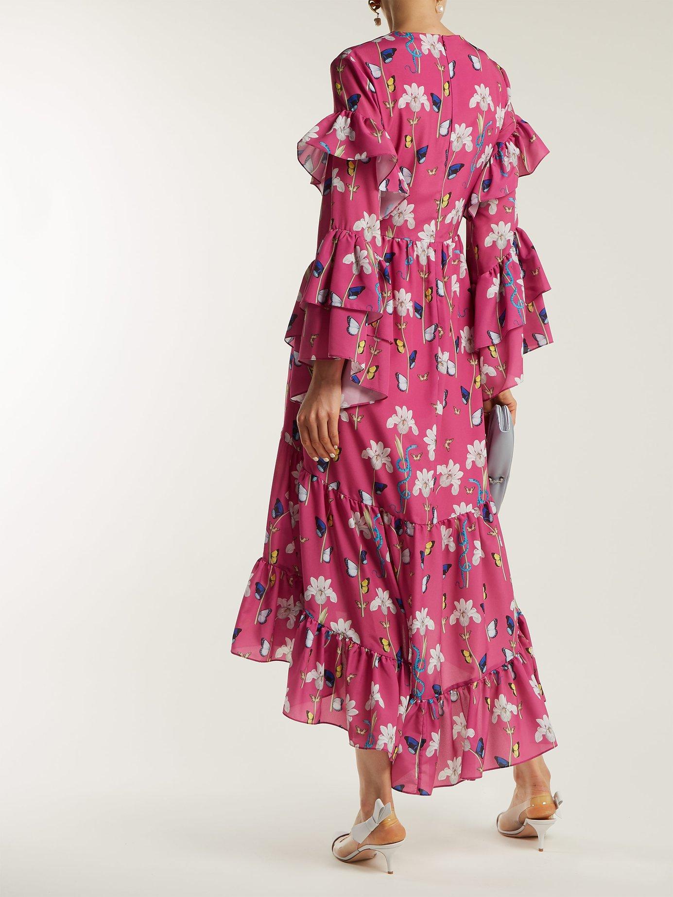 Luna crepe dress by Borgo De Nor