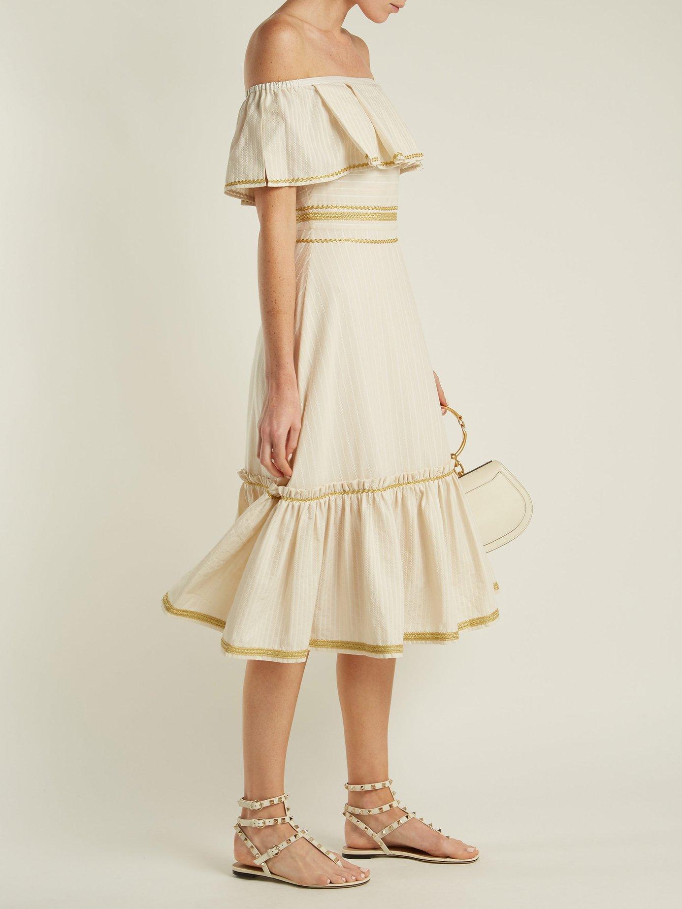 Leukes cotton dress by Zeus + Dione