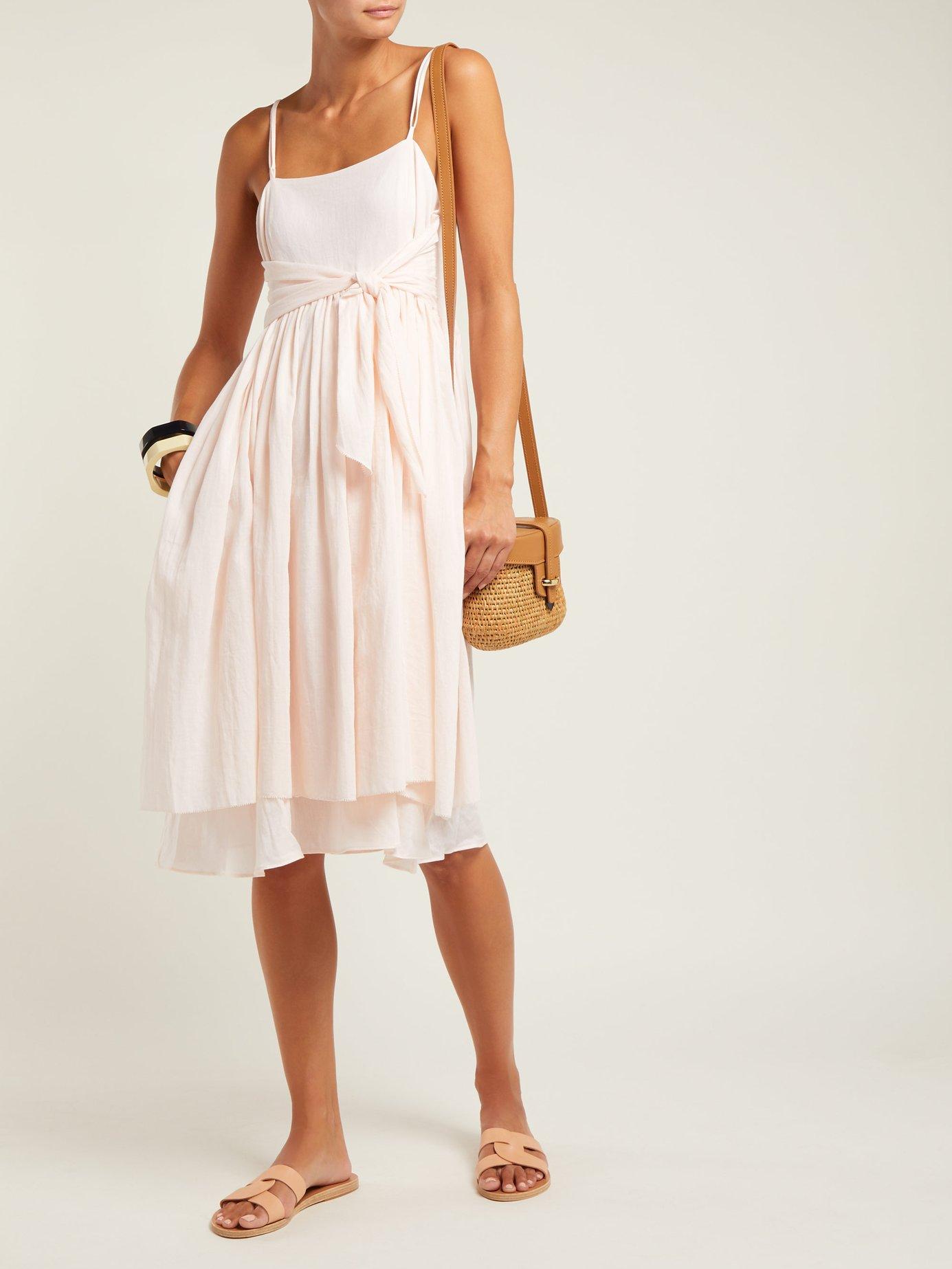 Lily layered cotton dress by Loup Charmant